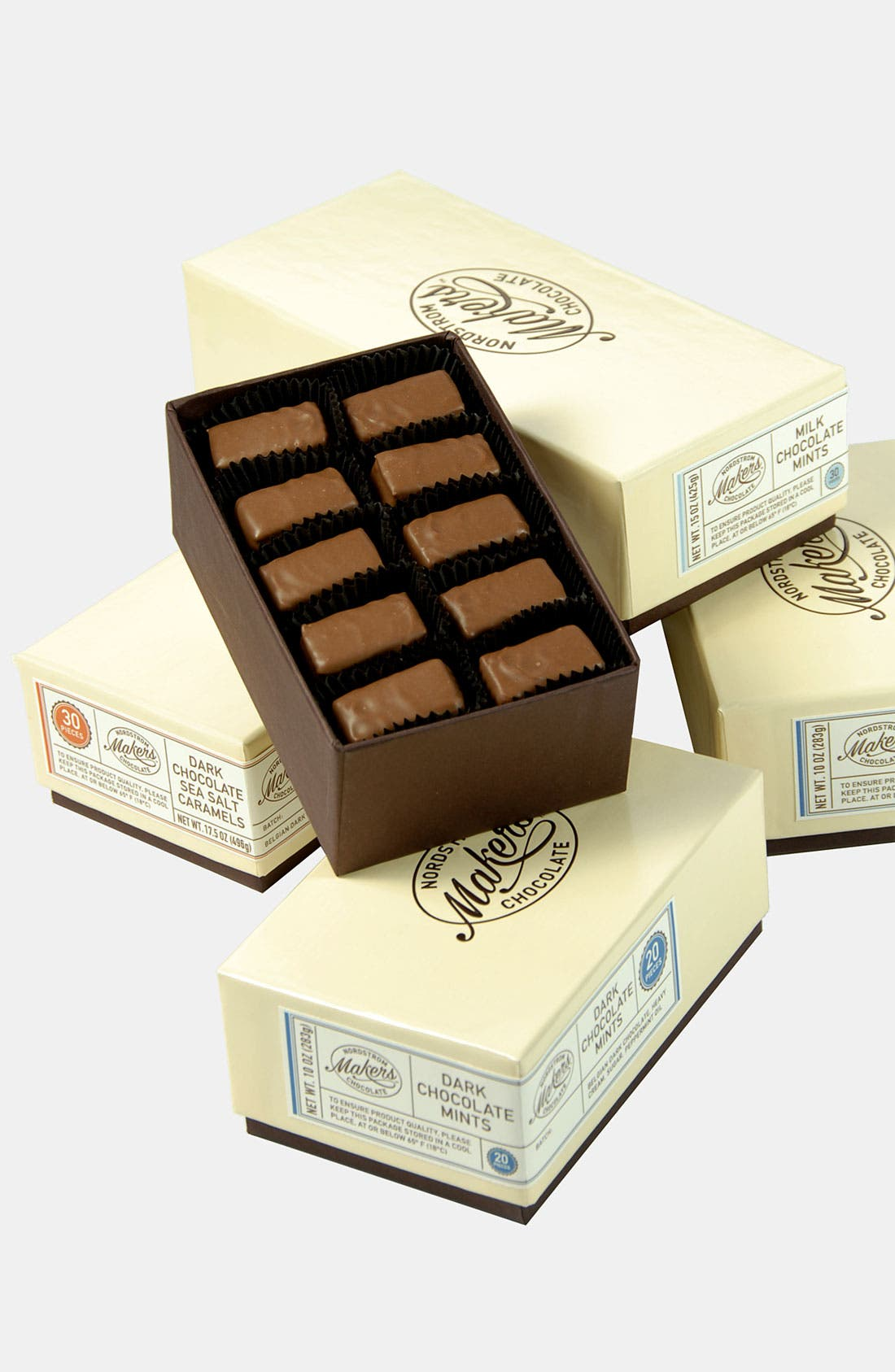 Alternate Image 2  - Nordstrom Makers Chocolate Milk Chocolate Mints (30 Pieces)