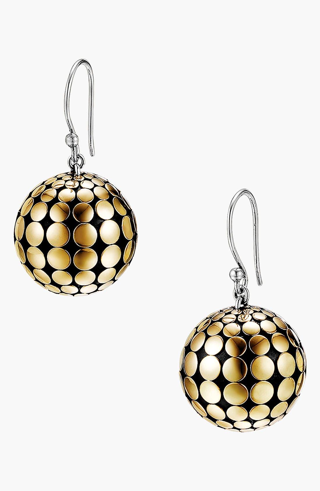 Alternate Image 1 Selected - John Hardy 'Dot Gold & Silver' Ball Earrings