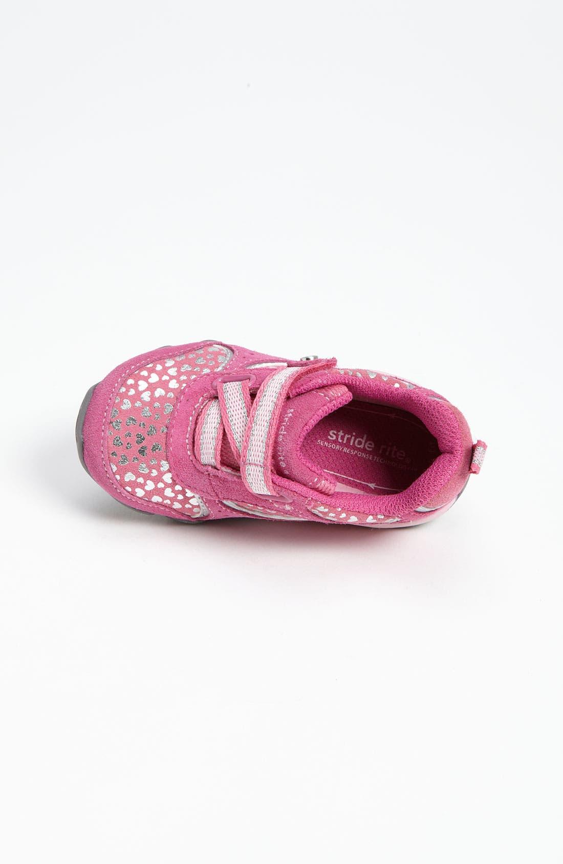 Alternate Image 3  - Stride Rite 'Misty' Sneaker (Baby, Walker & Toddler)