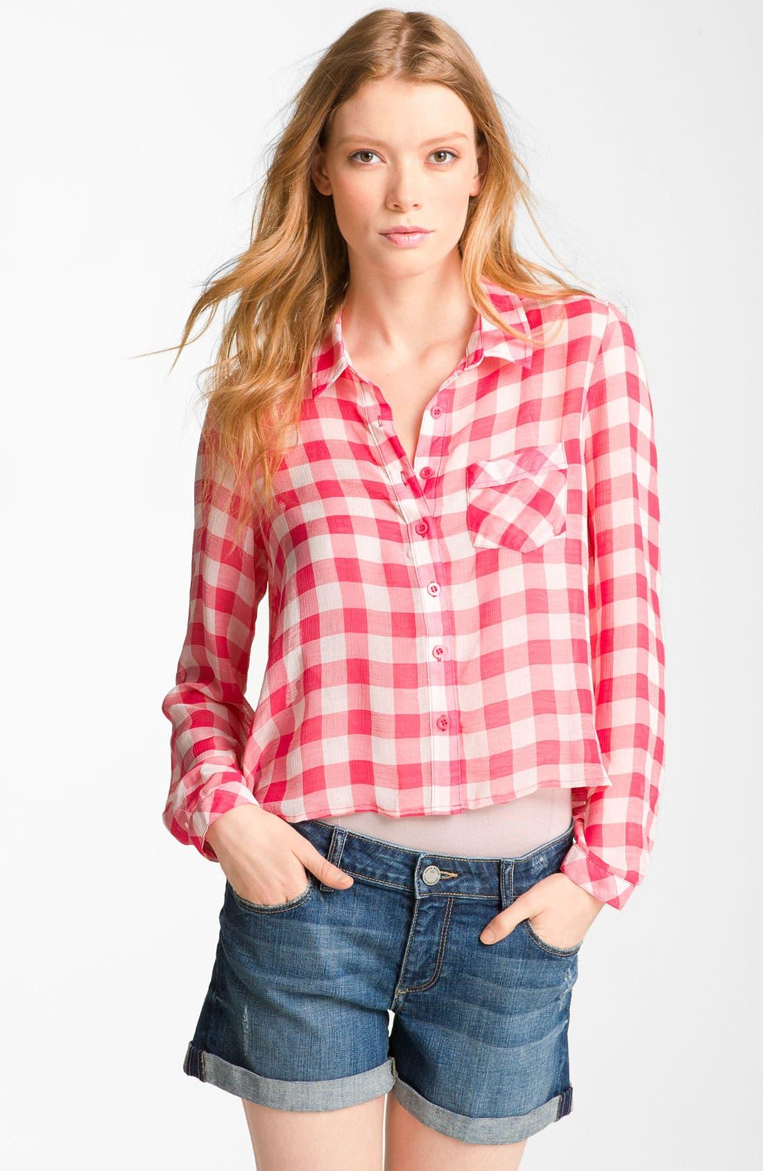 Amazoncom gingham shirt women Clothing Shoes amp Jewelry