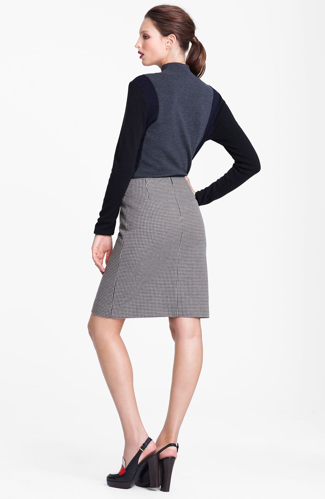 Alternate Image 2  - Marni Edition Houndstooth Pencil Skirt