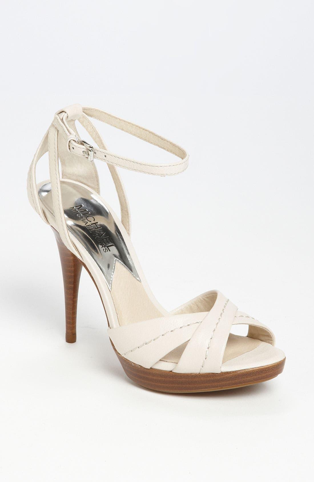 Main Image - MICHAEL Michael Kors 'Eleni' Platform Sandal