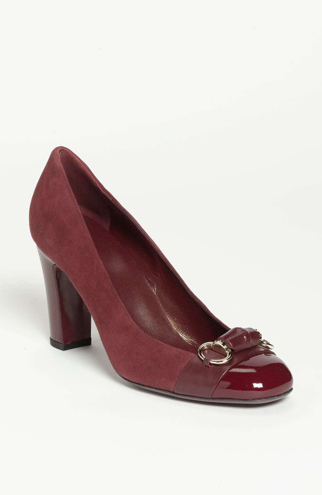 Alternate Image 1 Selected - Gucci 'Bamboo Bit' Pump