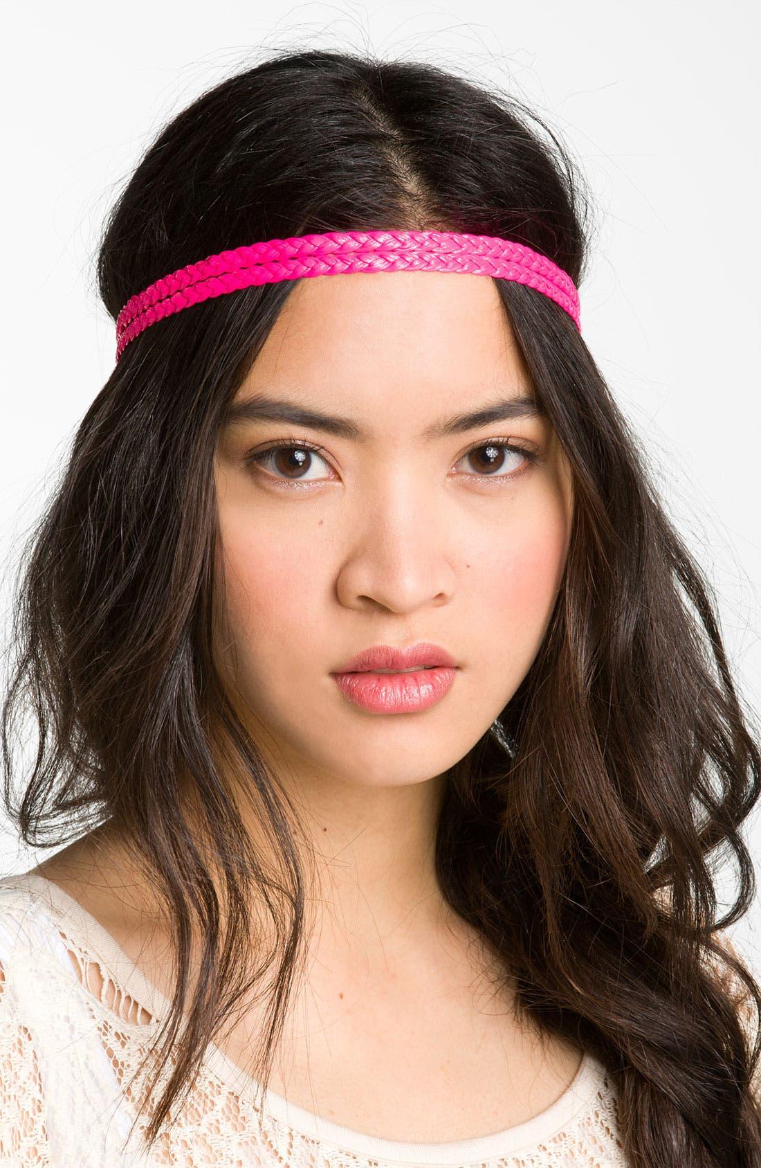 Main Image - Carole Braided Neon Headband