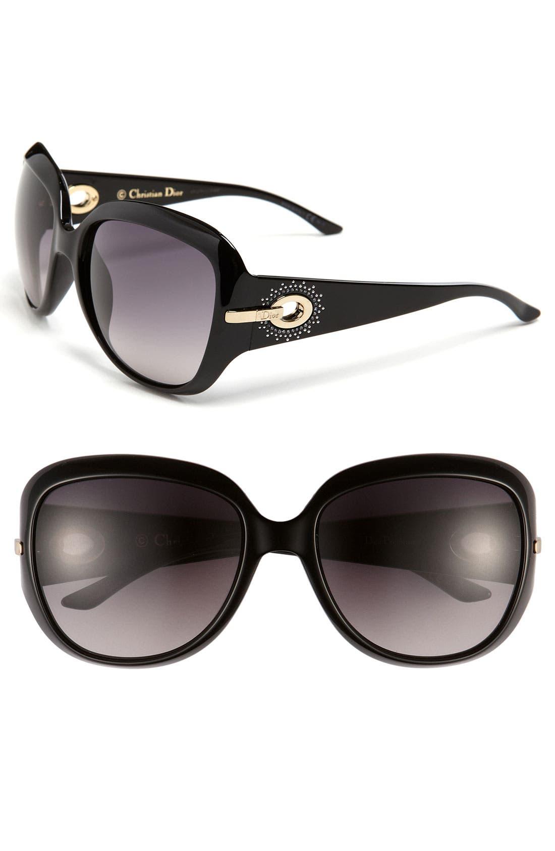 Alternate Image 1 Selected - Dior 57mm Oversized Sunglasses