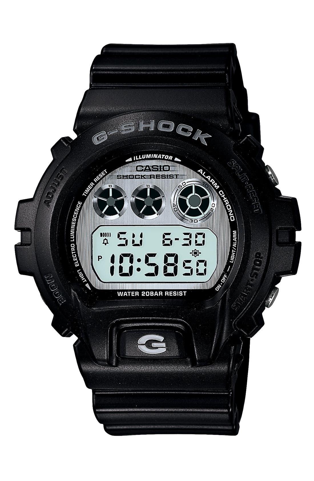Main Image - G-Shock 'Matte' Digital Watch, 53mm x 50mm
