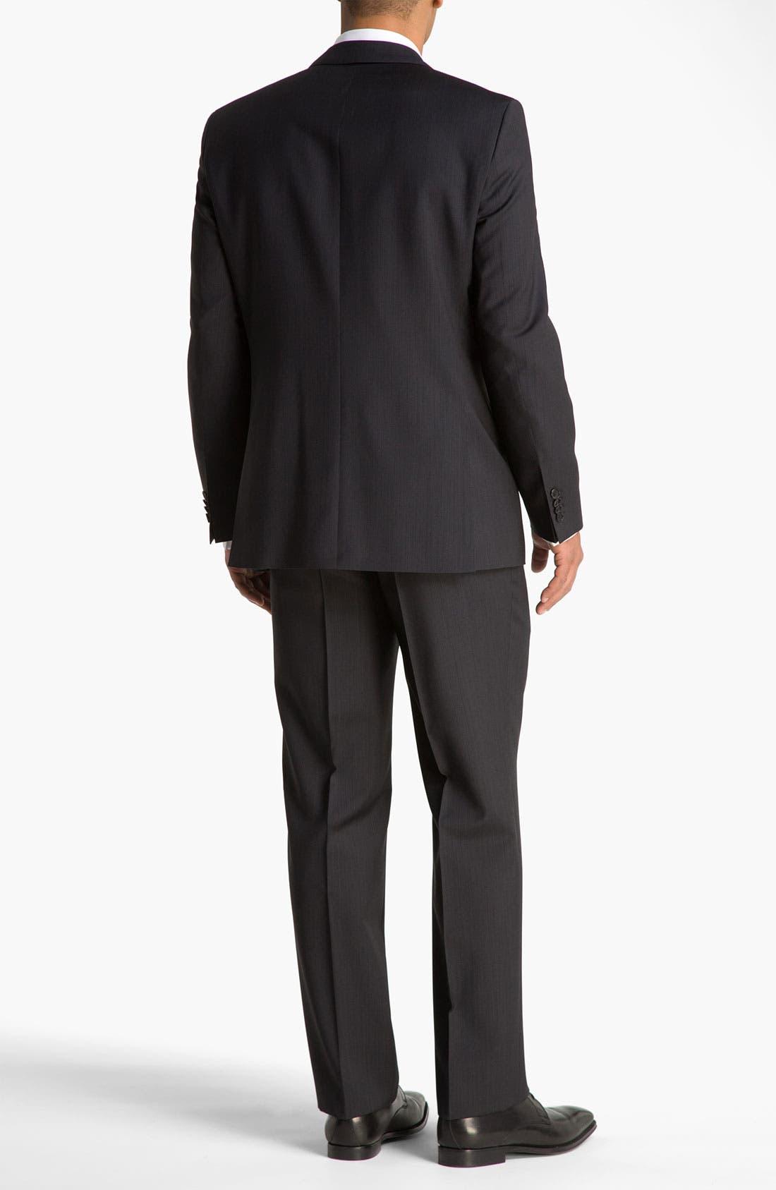 Alternate Image 3  - BOSS Black 'Pasini/Movie' Stripe Suit