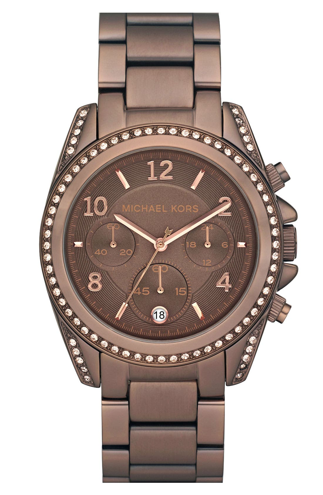 Alternate Image 1 Selected - Michael Kors 'Blair' Chronograph Watch, 39mm