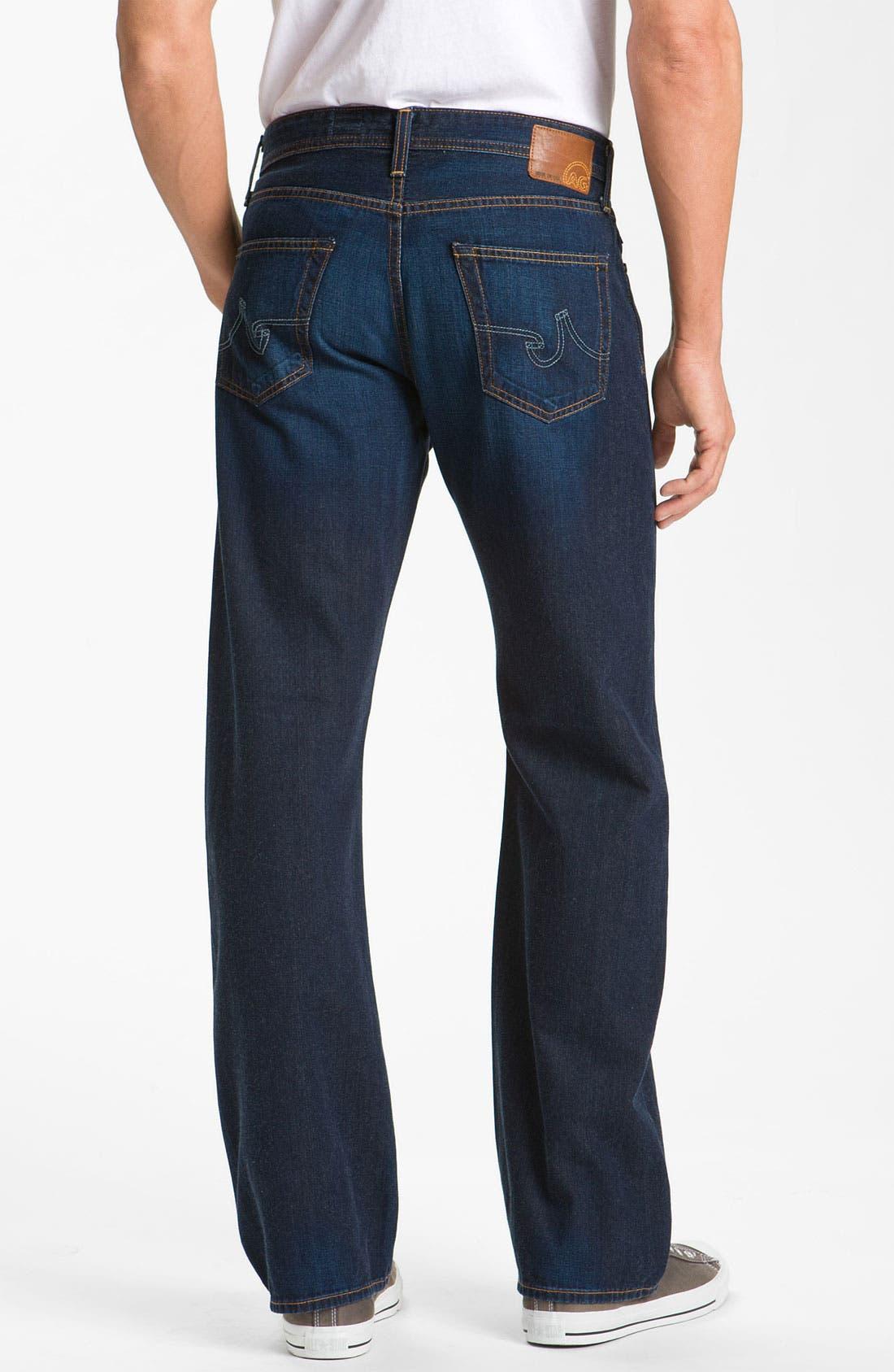 Alternate Image 2  - AG Jeans 'Hero' Relaxed Leg Jeans (Barrow)