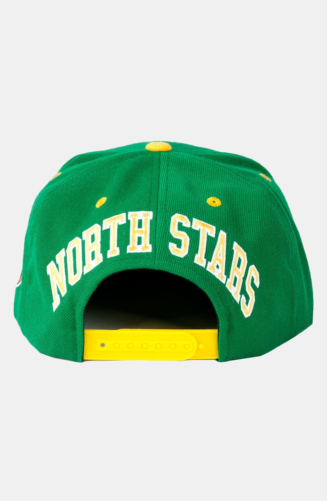 Alternate Image 3  - American Needle 'North Stars - Blockhead' Snapback Baseball Cap