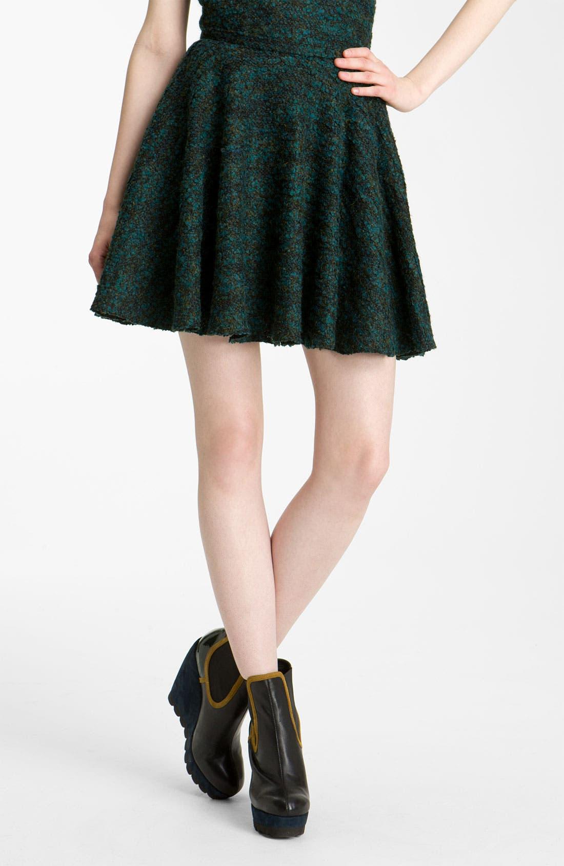 Alternate Image 1 Selected - KENZO Mélange Knit Skirt
