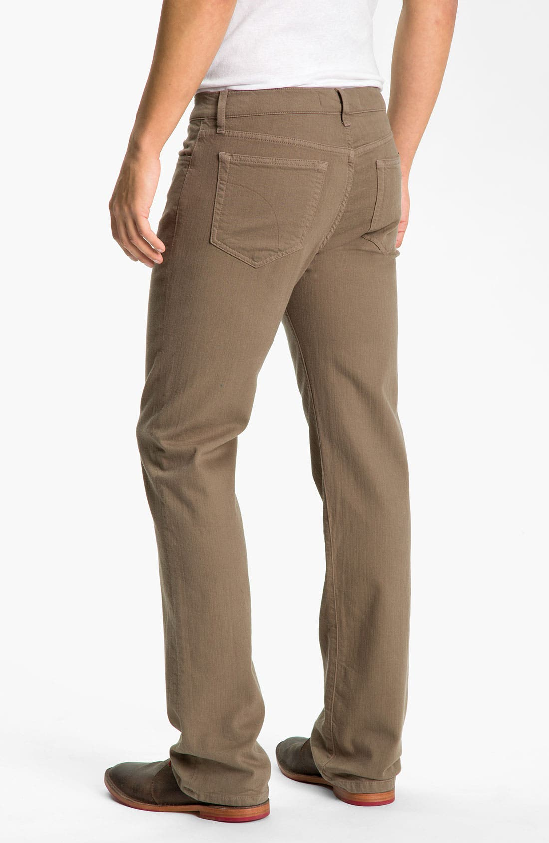 Alternate Image 1 Selected - Joe's 'Classic' Straight Leg Jeans (Walnut)