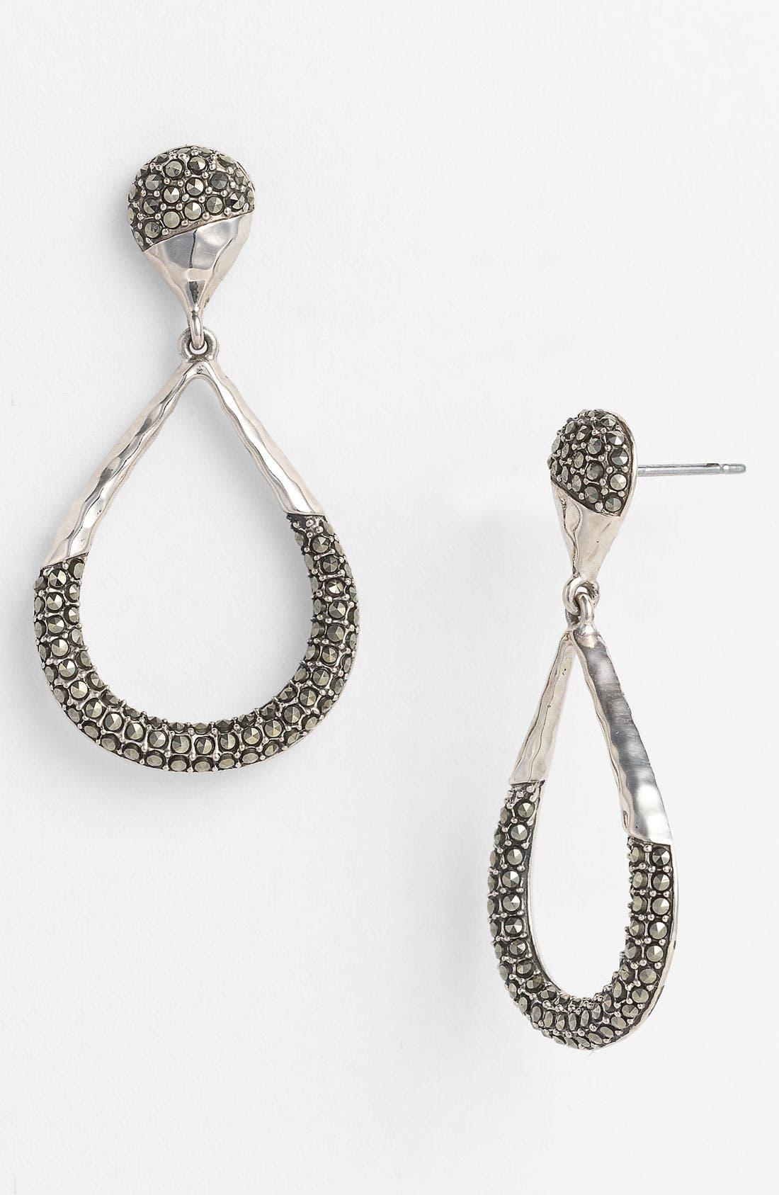 Main Image - Judith Jack 'Gold Sea' Open Teardrop Earrings