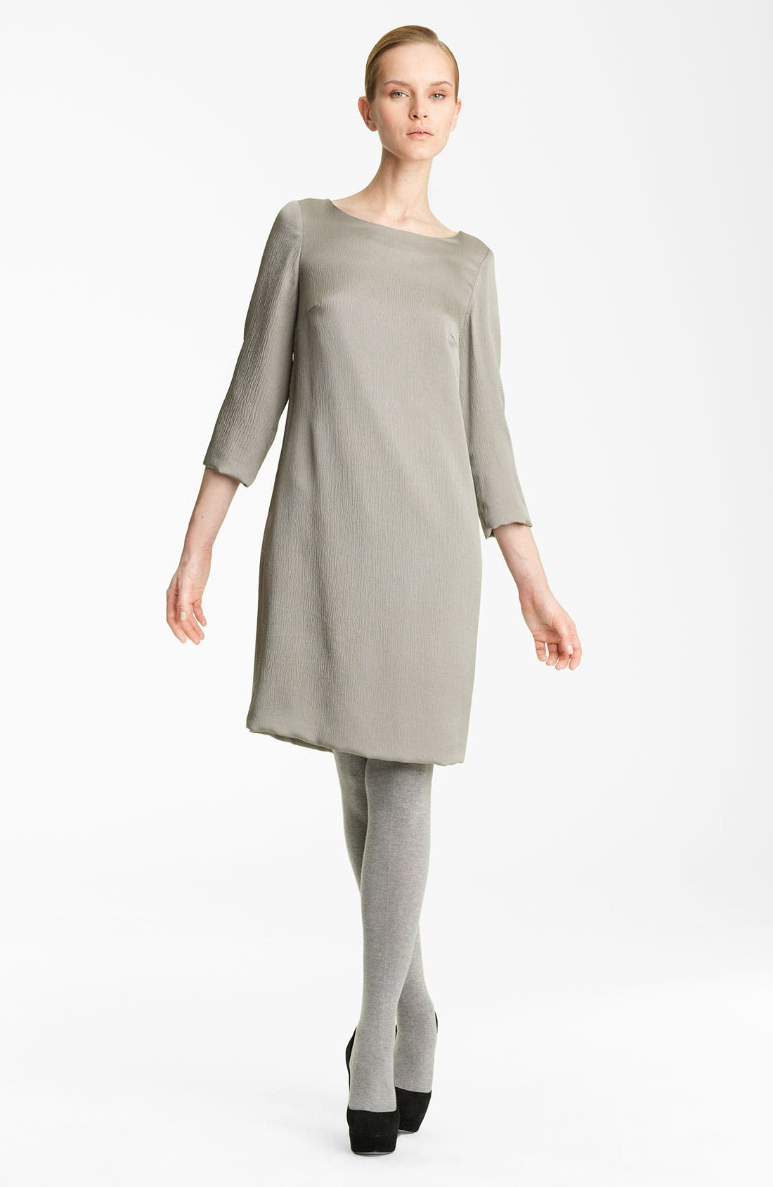 Alternate Image 1 Selected - Fabiana Filippi Hammered Silk Dress