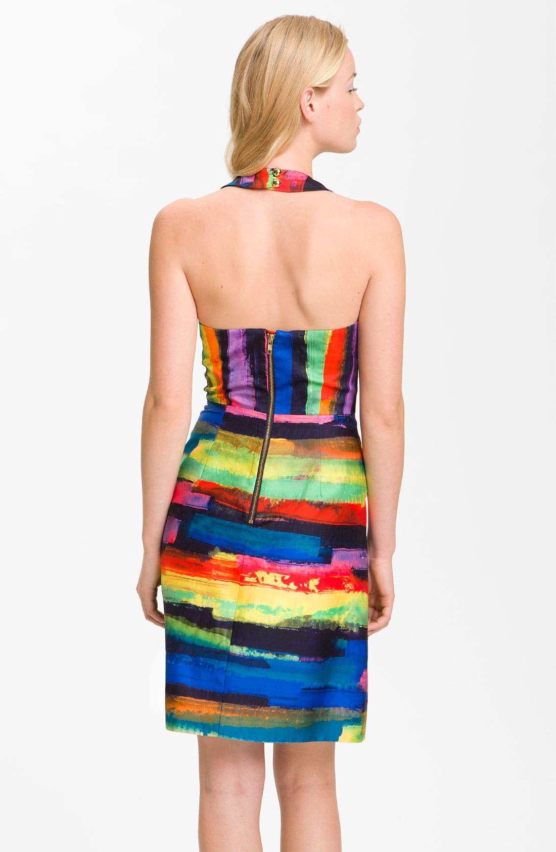 Alternate Image 2  - Milly 'Phoebe' Print Halter Dress