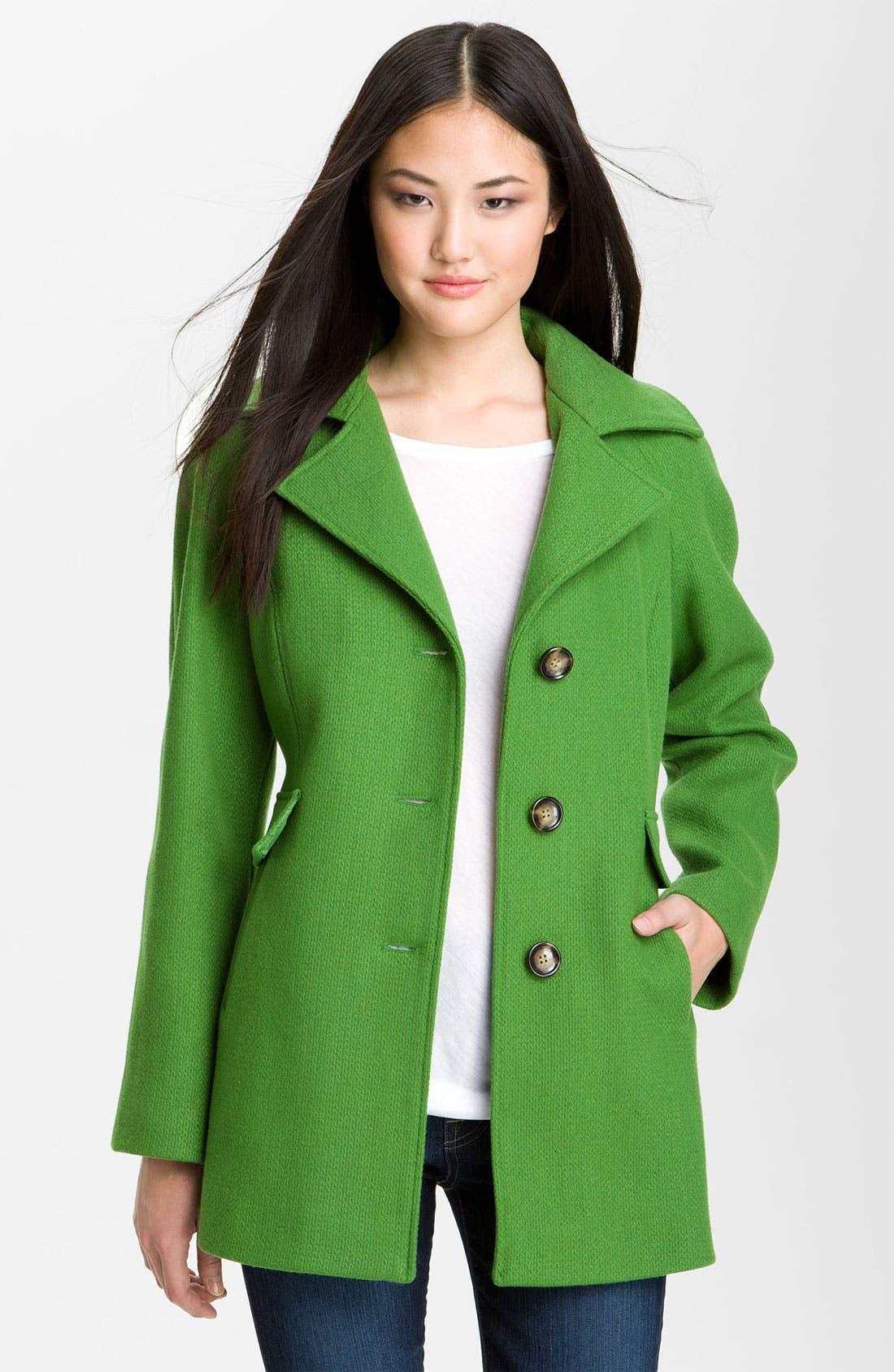 Alternate Image 3  - Calvin Klein Single Breasted Coat