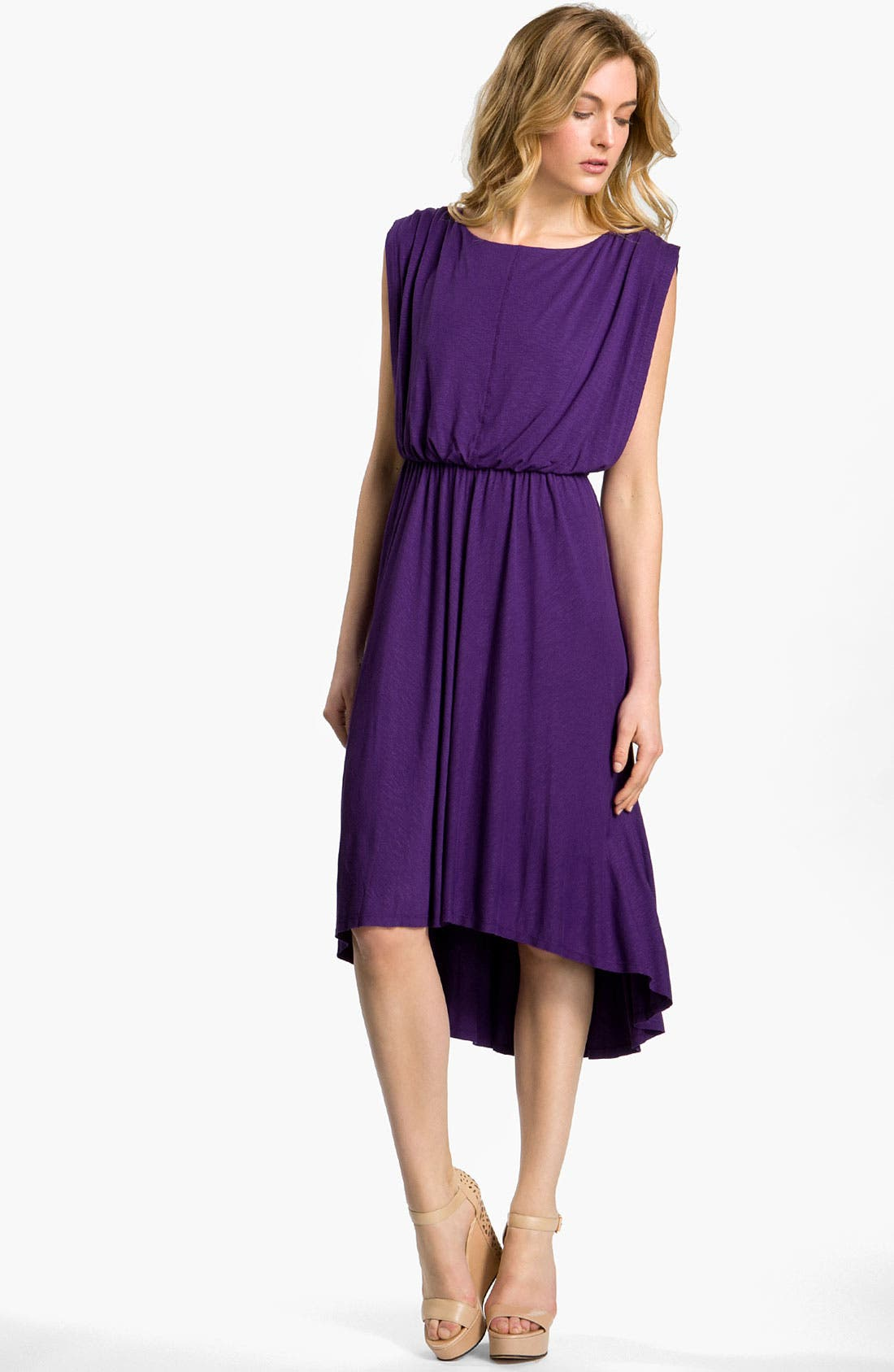 Alternate Image 1 Selected - Vince Camuto Blouson Jersey Dress