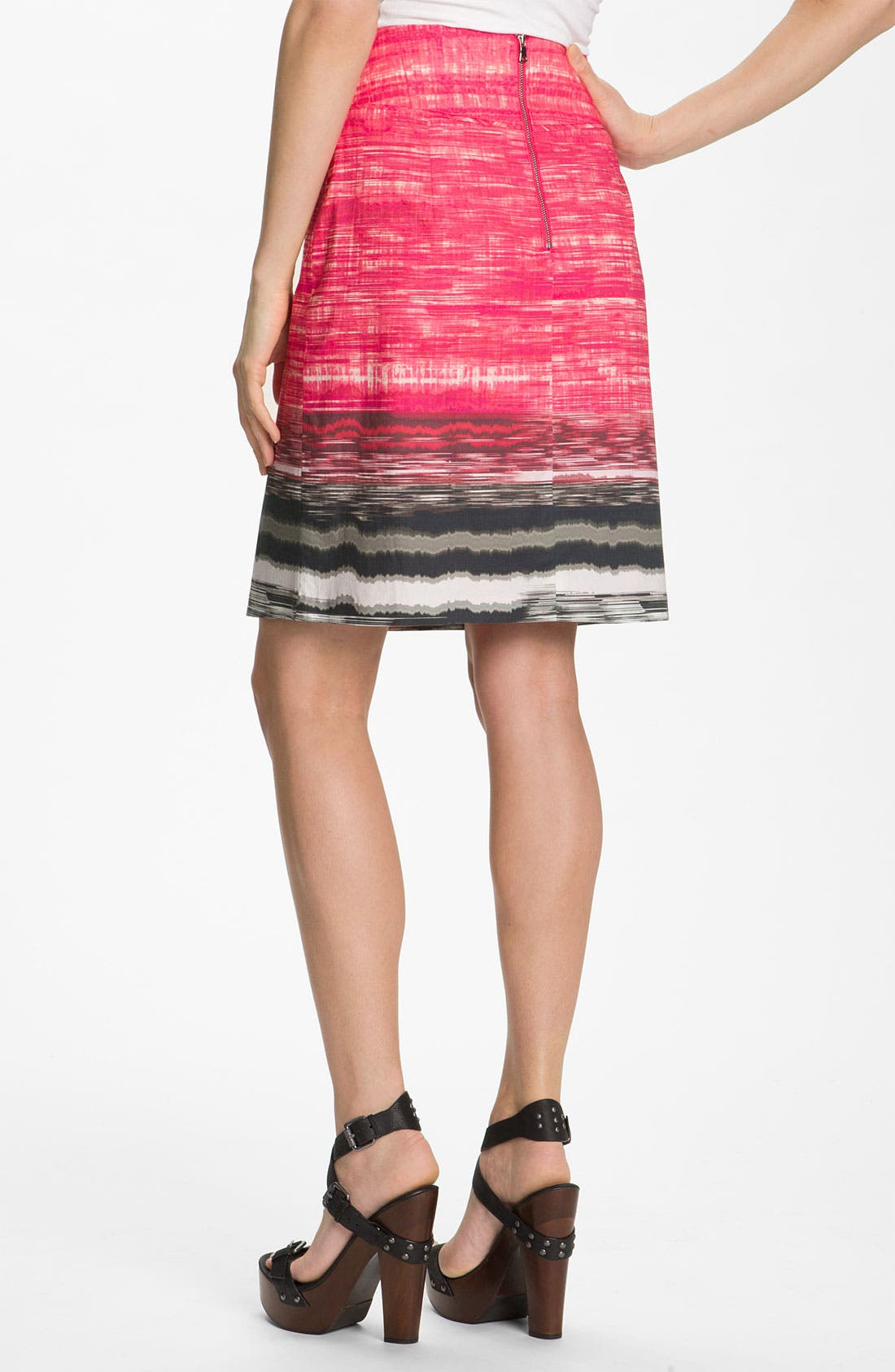Alternate Image 2  - Elie Tahari Exclusive for Nordstrom 'Roni' A-Line Skirt