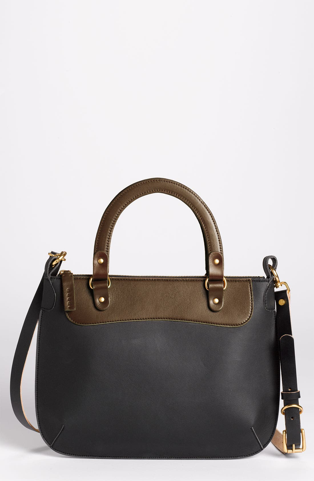 Alternate Image 1 Selected - Marni 'Large' Leather Crossbody Bag