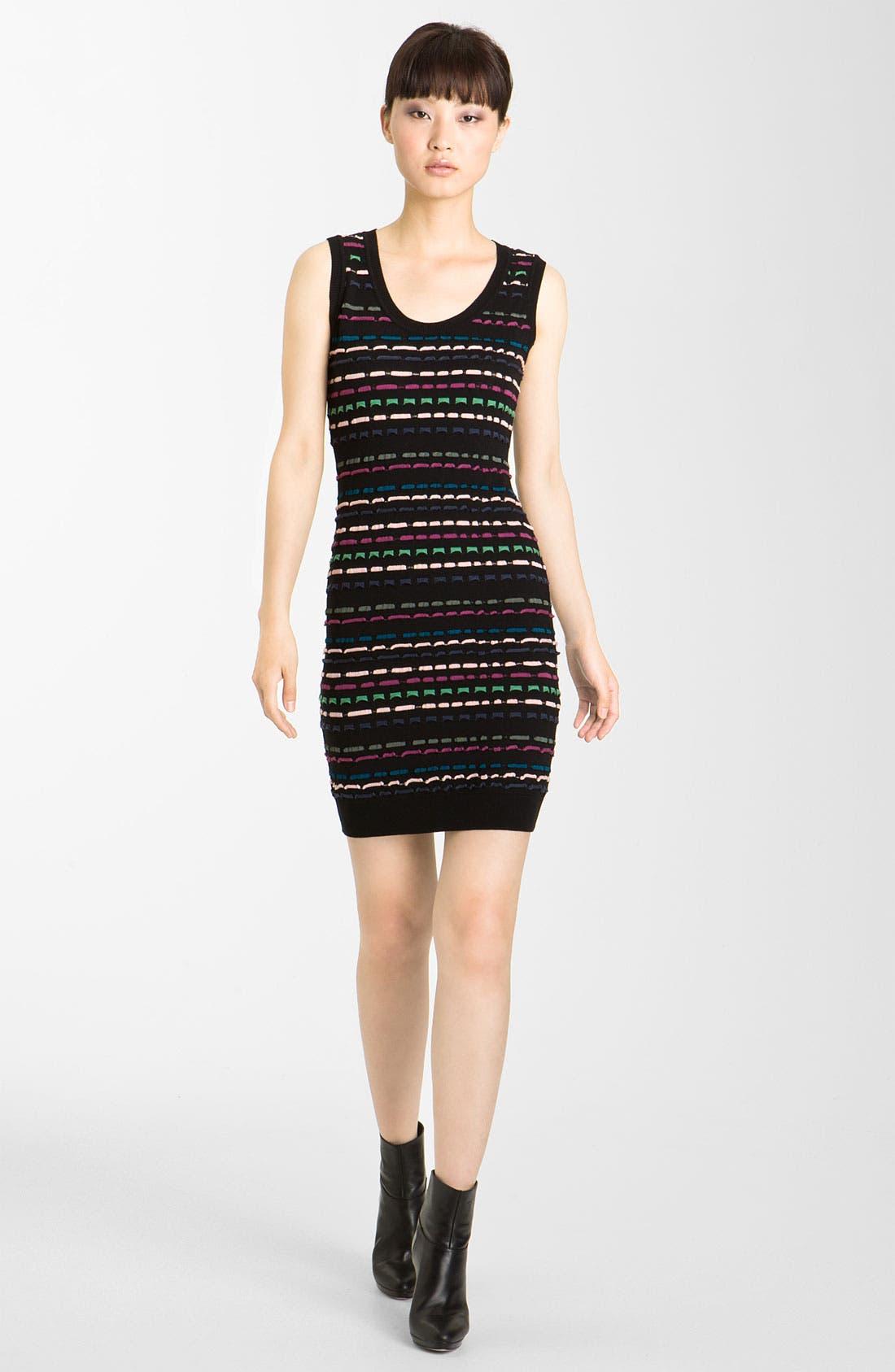 Main Image - M Missoni Ribbon Stitch Tank Dress