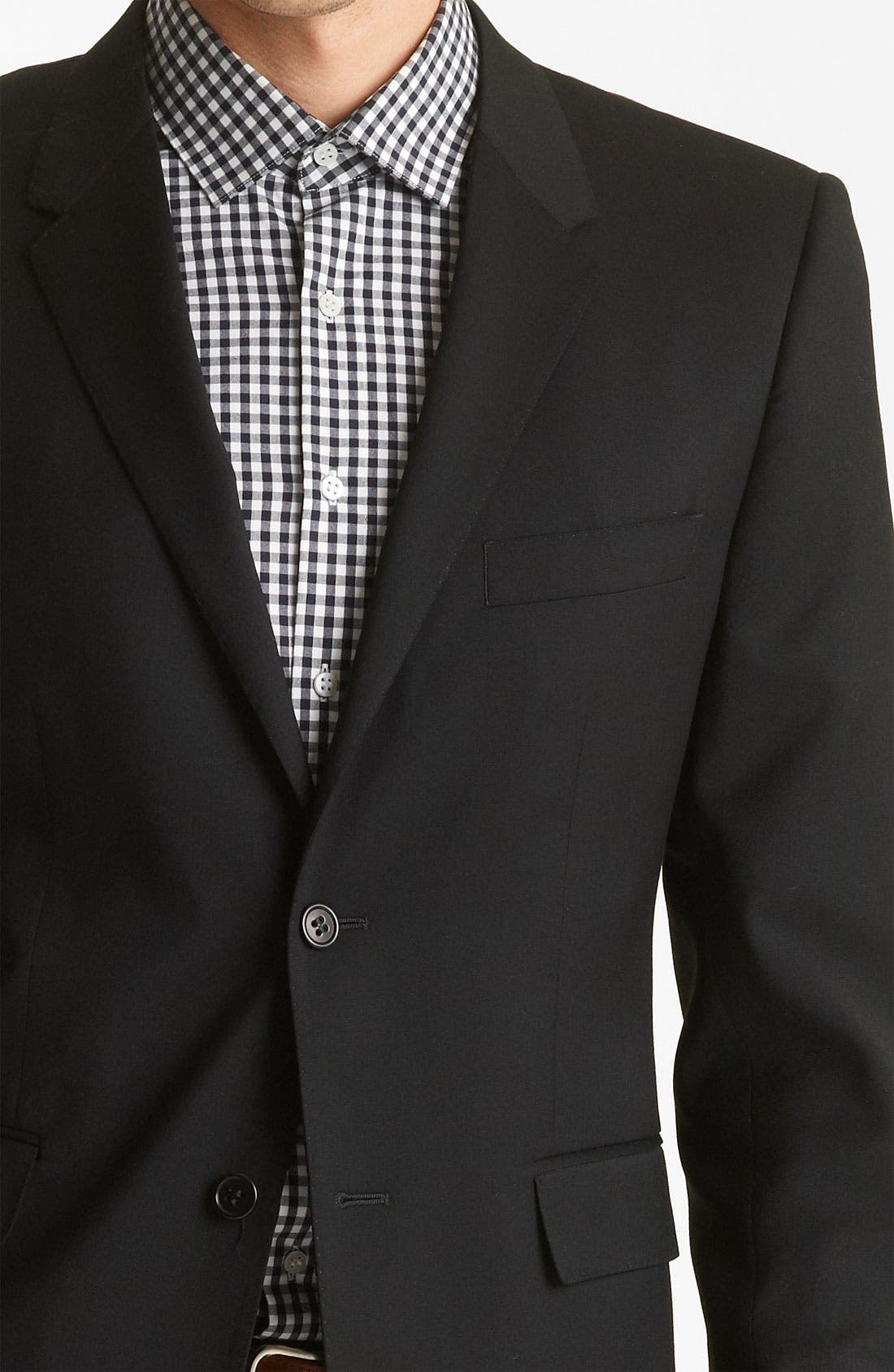 Alternate Image 3  - Shipley & Halmos 'Green Classic ' Suit Blazer