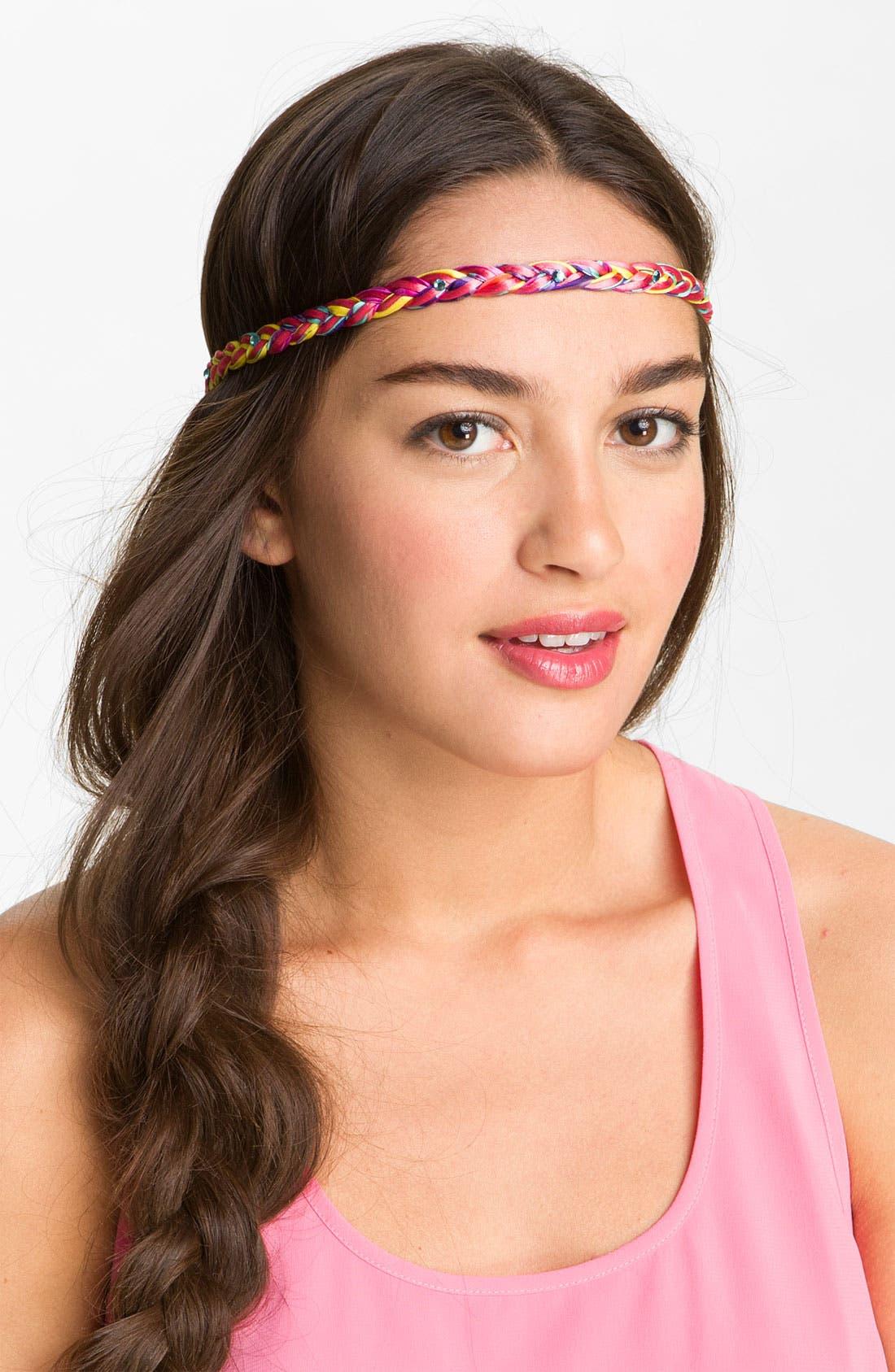 Alternate Image 1 Selected - Cara Braided Head Wrap