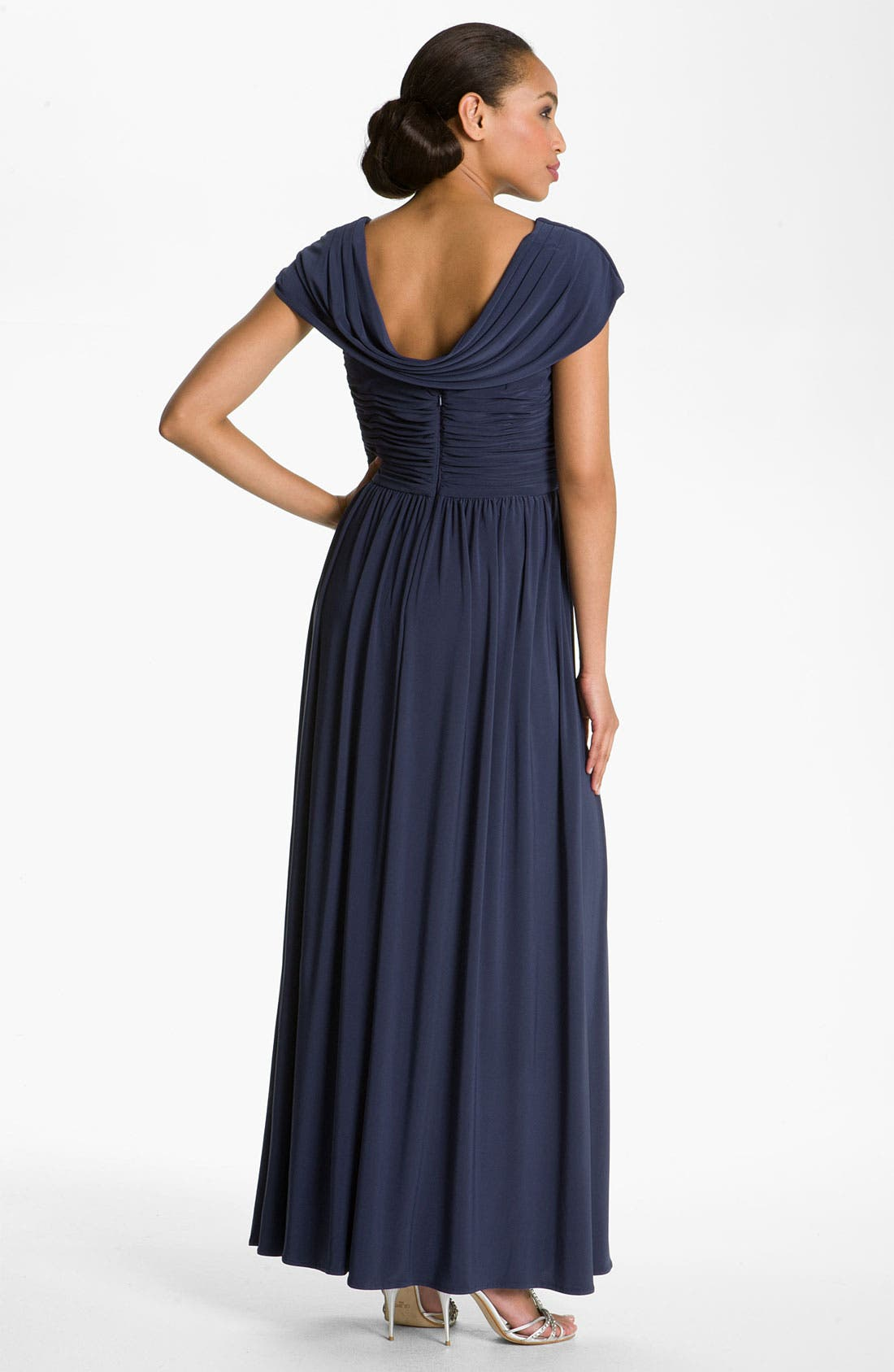 Alternate Image 2  - Patra Crisscross Bodice Jersey Gown
