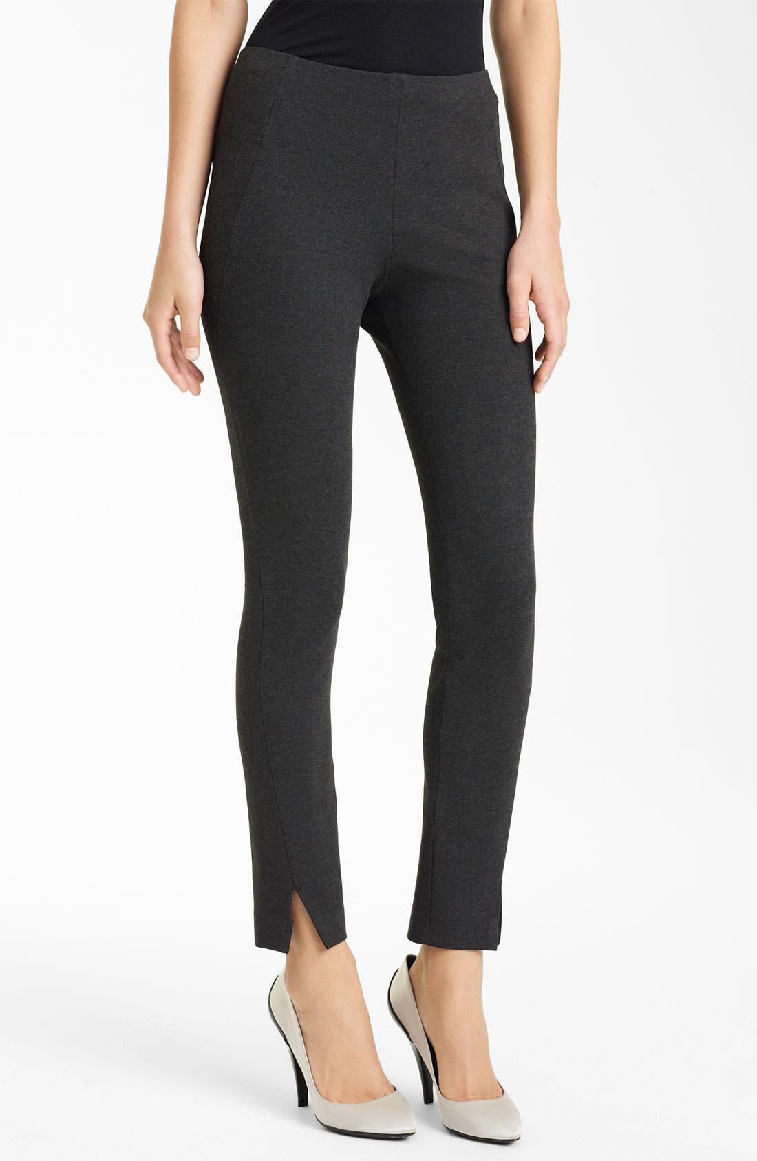 Main Image - Donna Karan Collection Slim Jersey Pants
