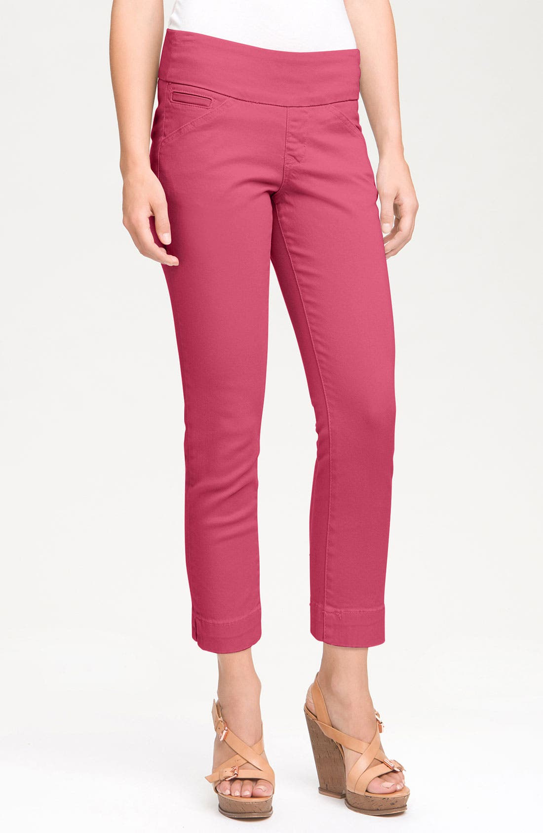 Alternate Image 1 Selected - Jag Jeans 'Attie' Slim Ankle Pants (Petite)