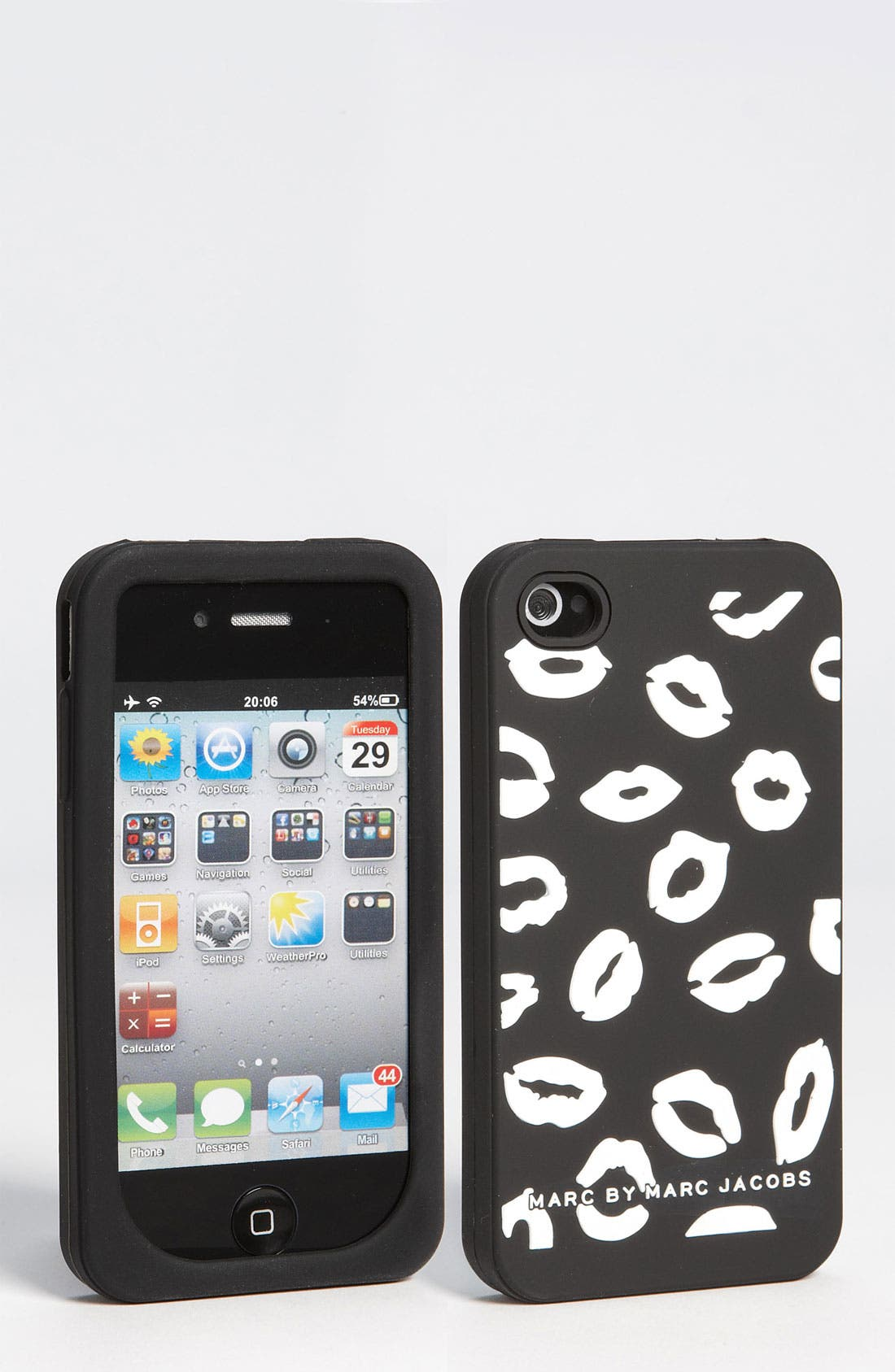 Alternate Image 1 Selected - MARC BY MARC JACOBS 'Mademoiselle Danger' iPhone 4 & 4S Cover