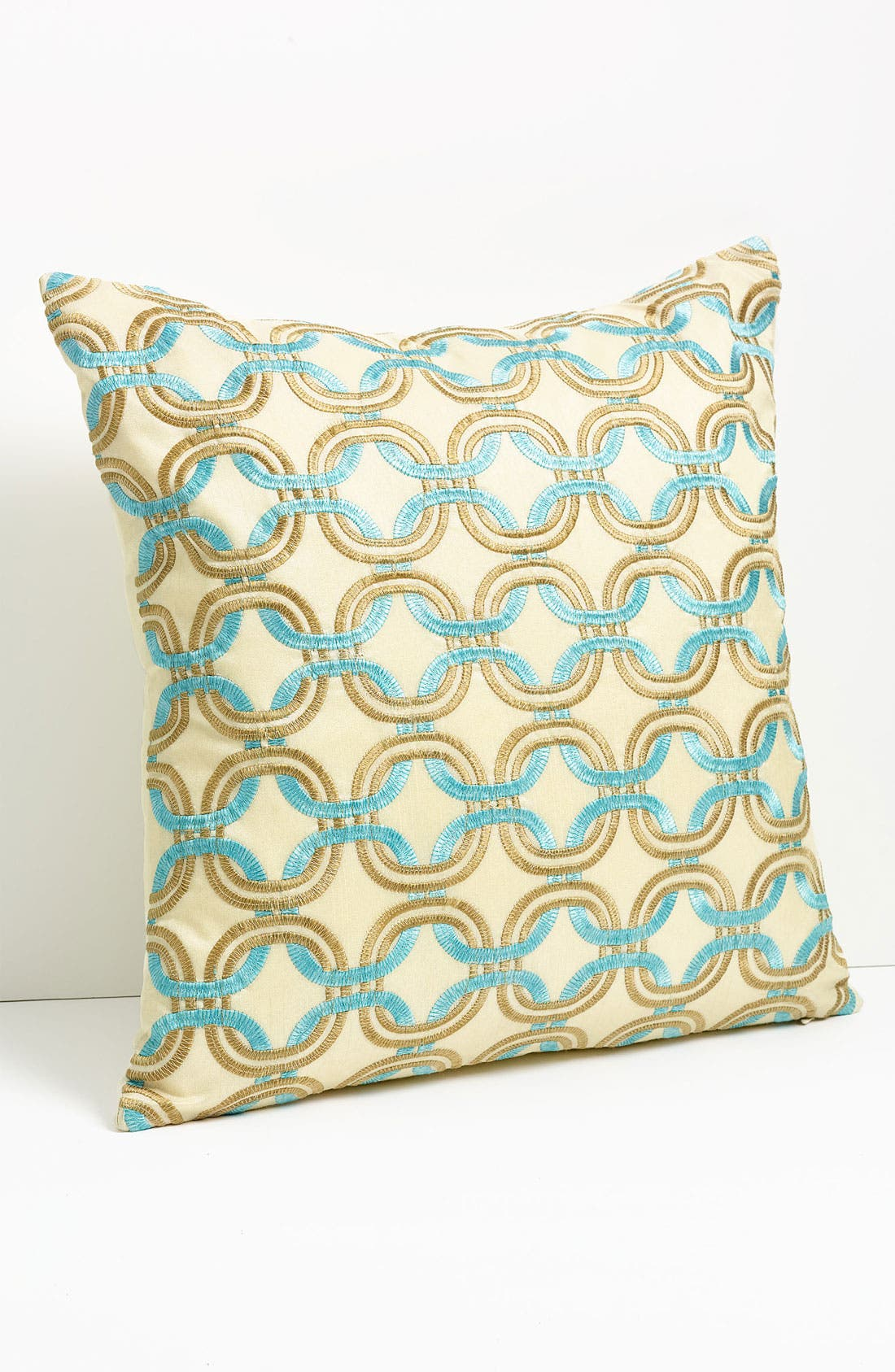 Alternate Image 1 Selected - Nordstrom at Home Chain Embroidered Pillow