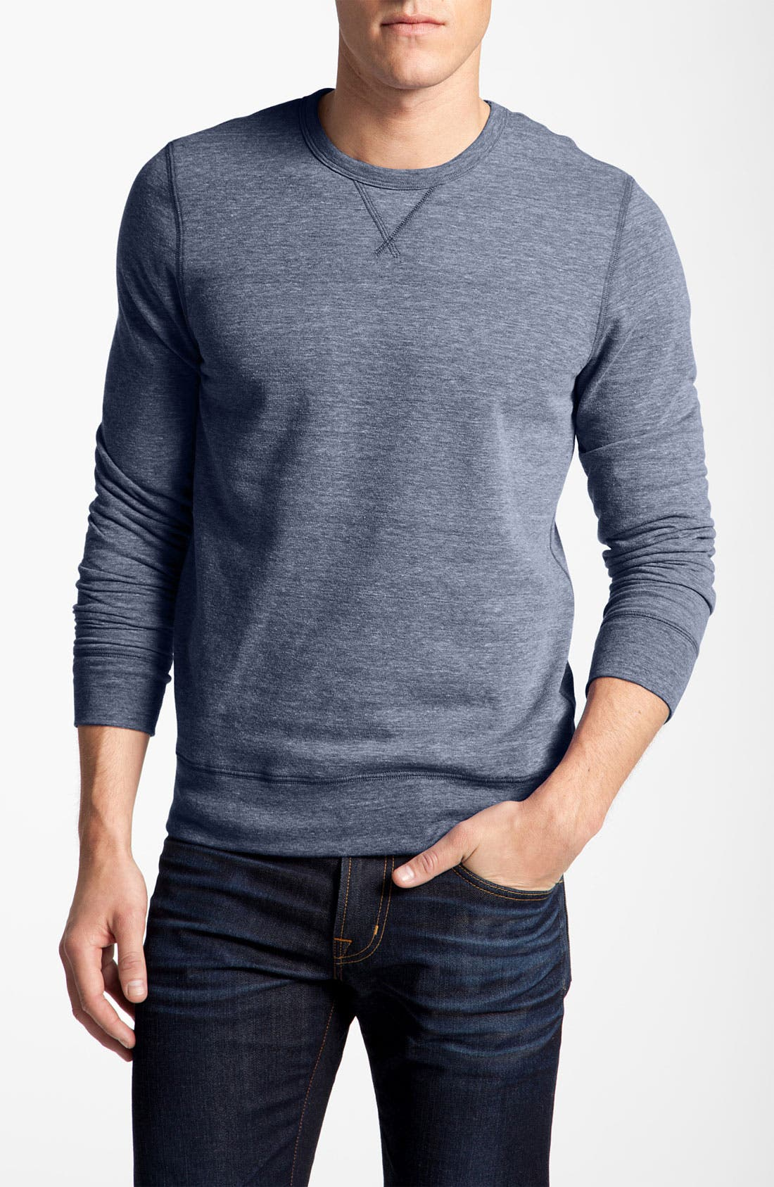Main Image - 1901 Trim Fit Crewneck Sweatshirt