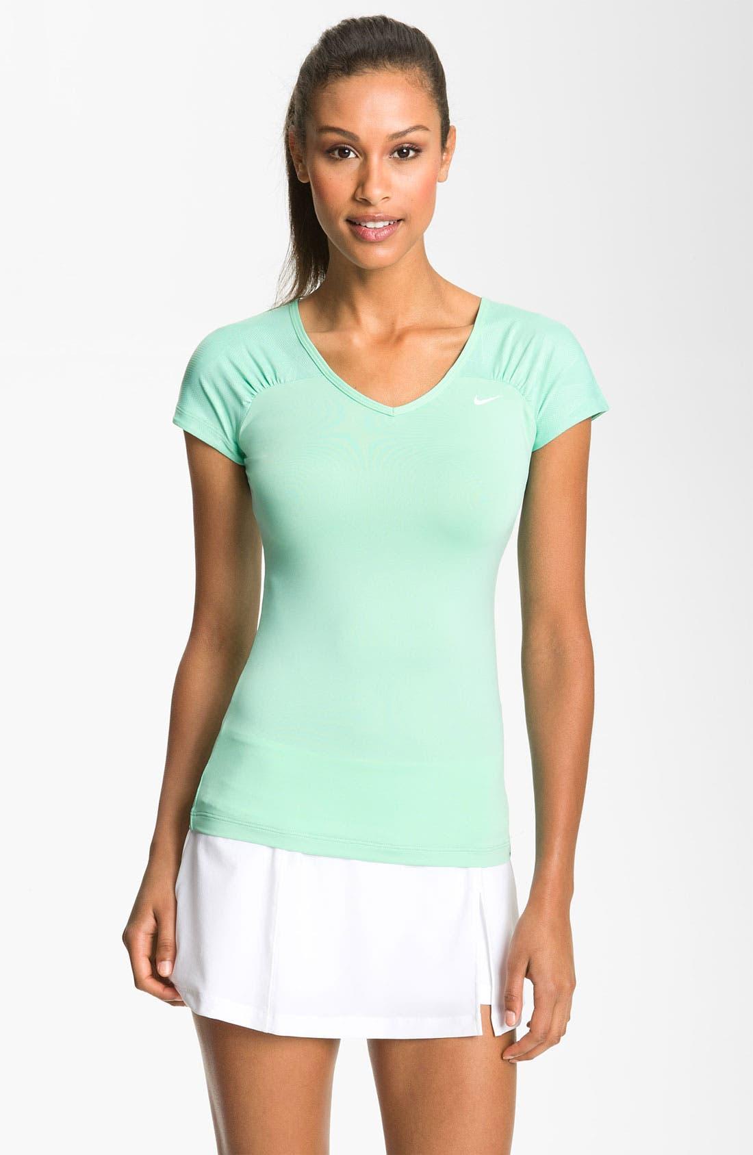 Main Image - Nike 'Tie Breaker' Tennis Top