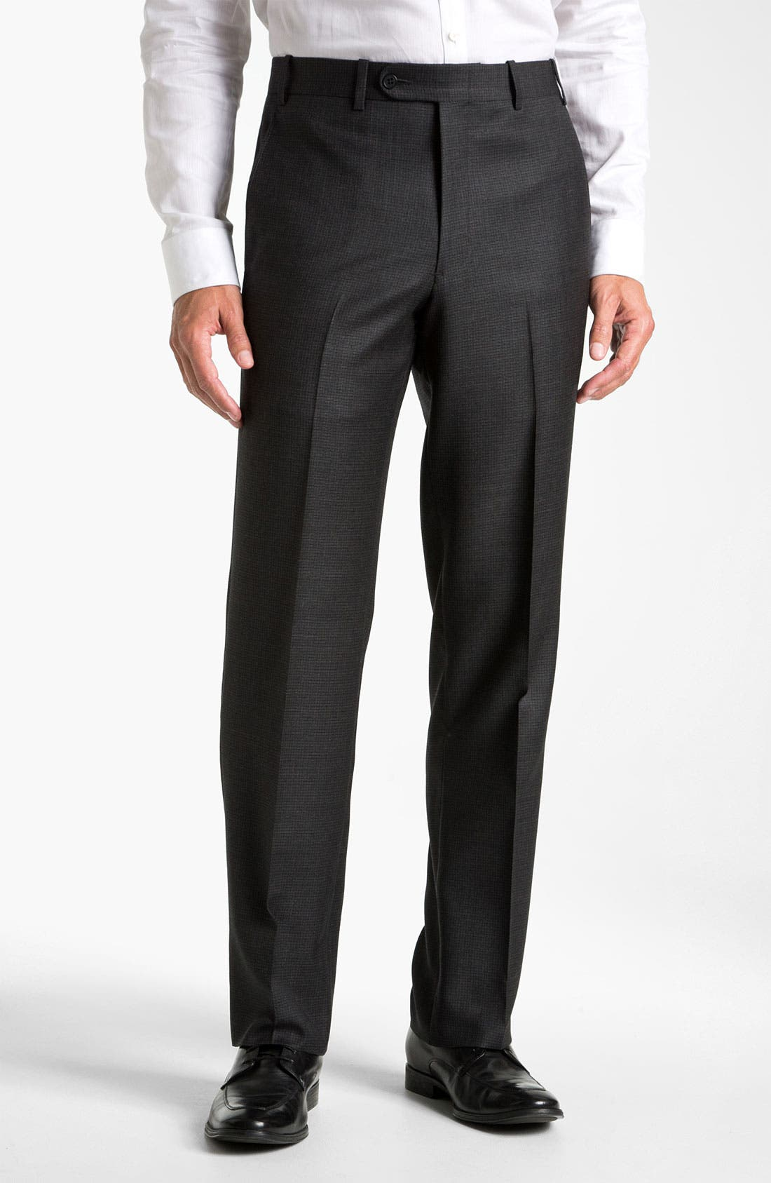 Alternate Image 1 Selected - JB Britches Flat Front Trousers