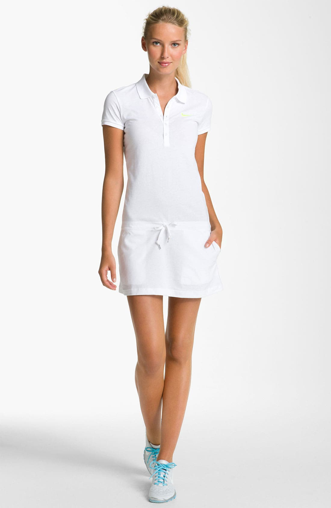 Alternate Image 1 Selected - Nike 'AD' Polo Dress