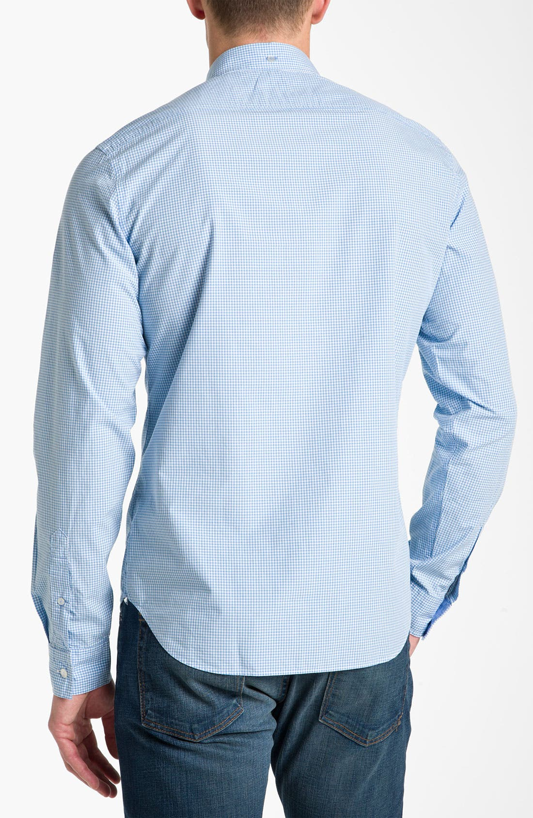 Alternate Image 2  - Burberry Brit Trim Fit Sport Shirt
