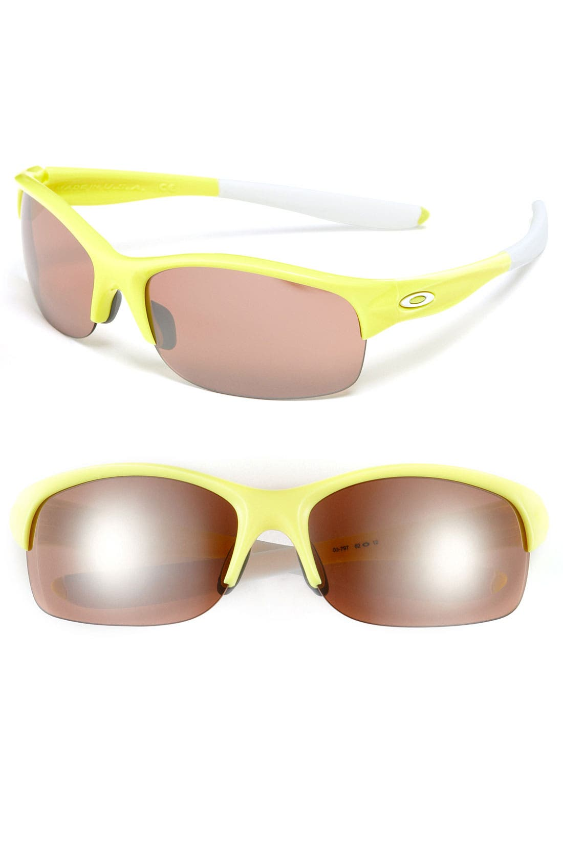 Alternate Image 1 Selected - Oakley 'Commit® Square' 62mm Sunglasses