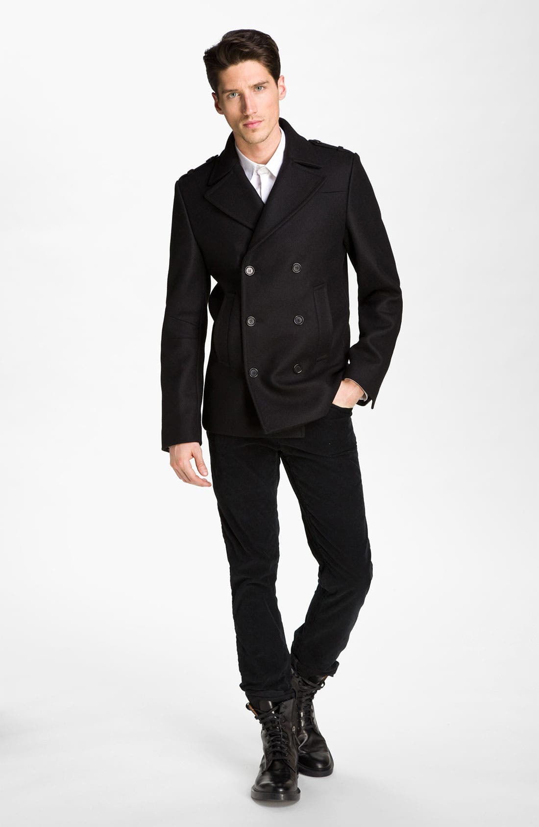 Alternate Image 3  - Zadig & Voltaire Double Breasted Peacoat