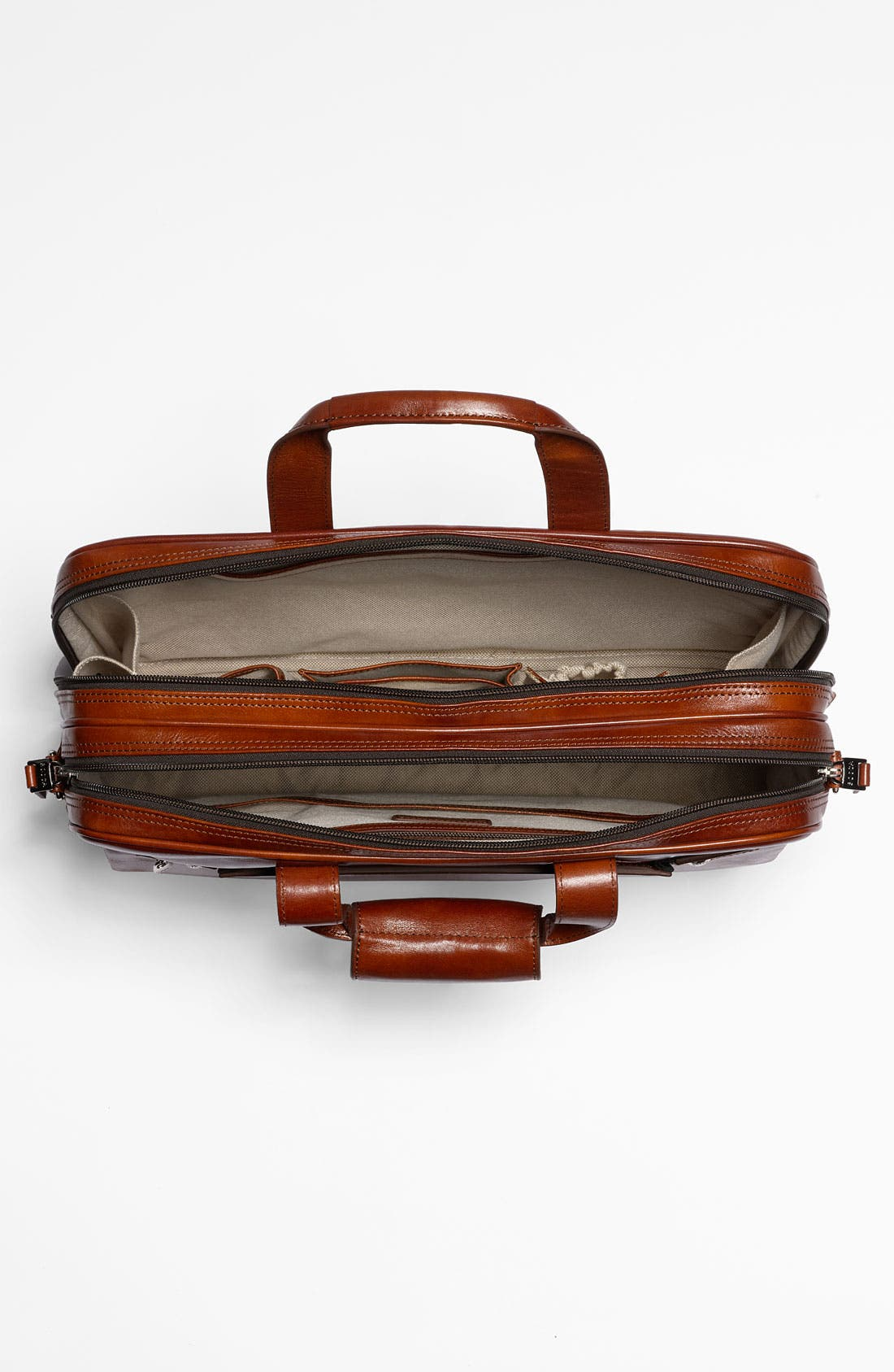 Alternate Image 4  - Bosca Double Compartment Leather Briefcase
