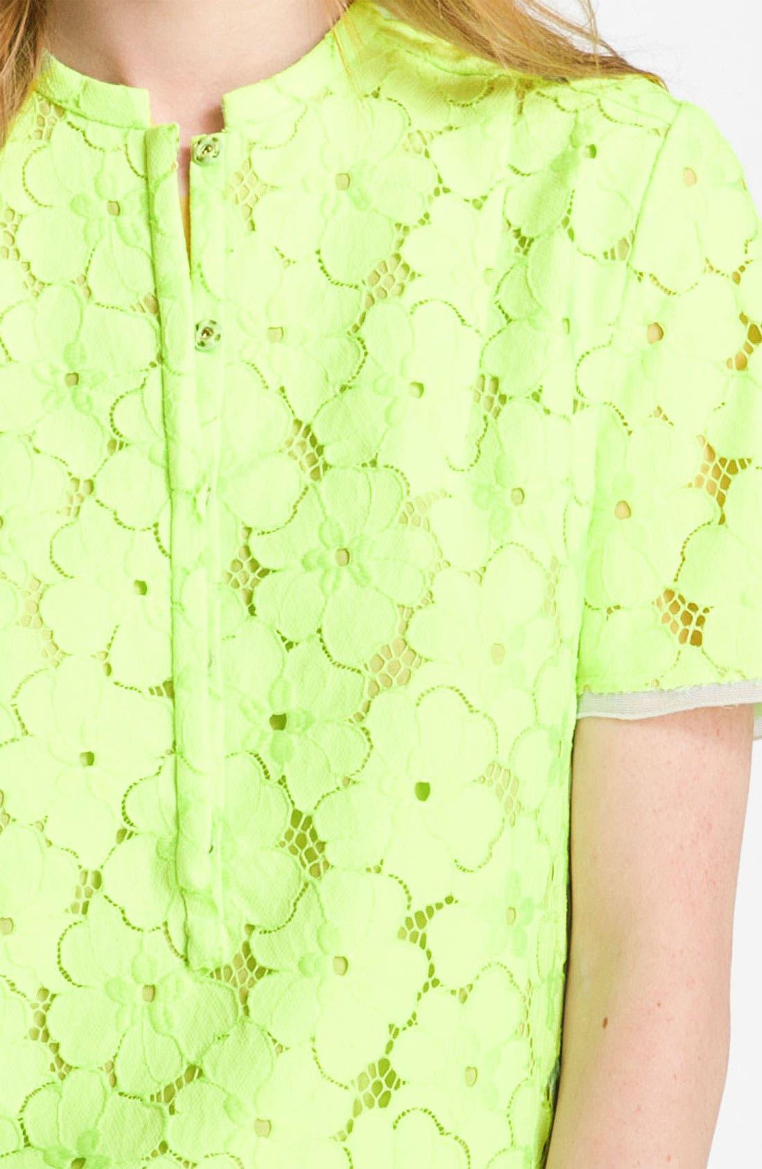 Alternate Image 3  - Diane von Furstenberg 'Warner' Lace Dress
