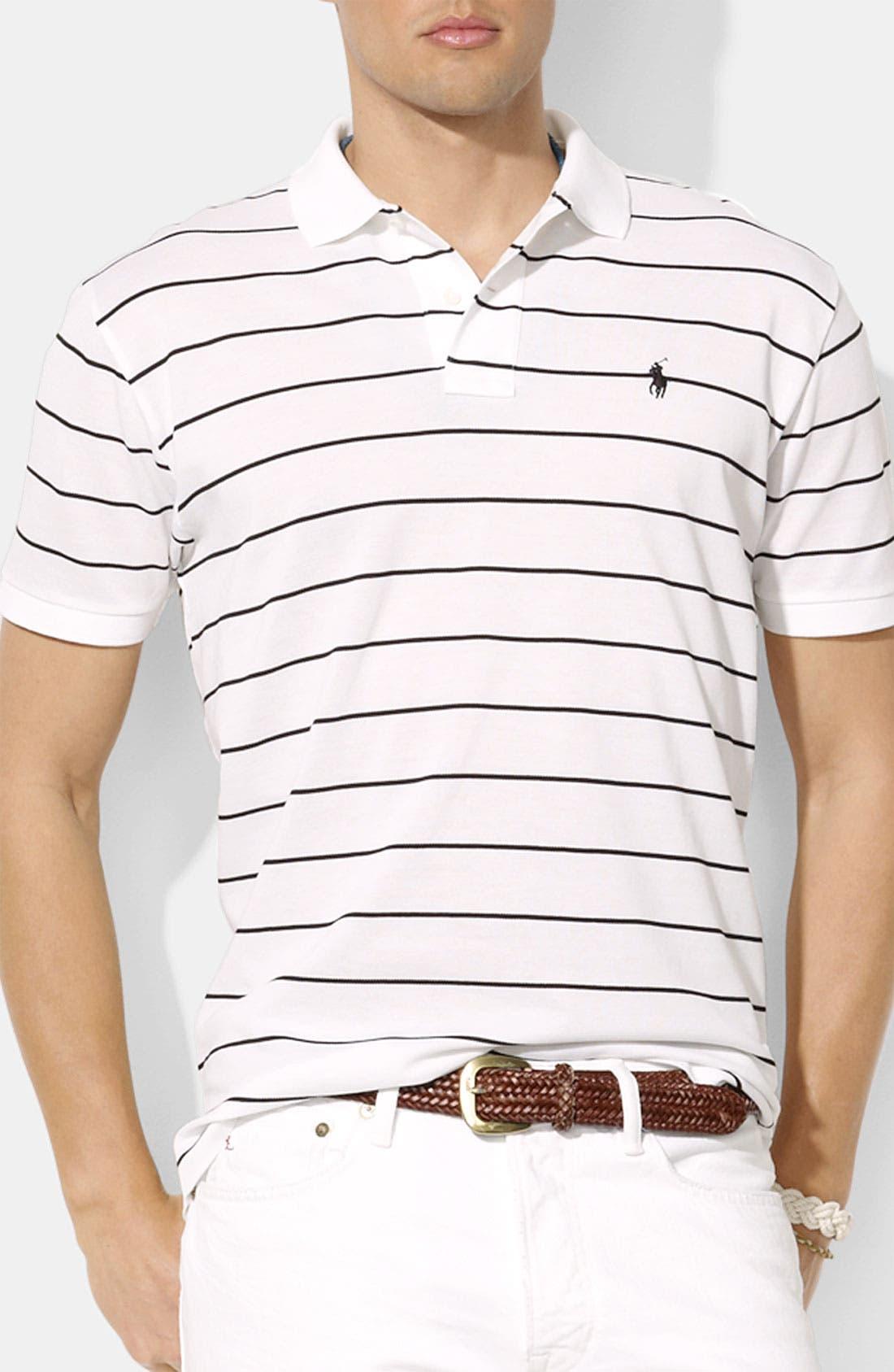 Main Image - Polo Ralph Lauren Classic Fit Piqué Polo