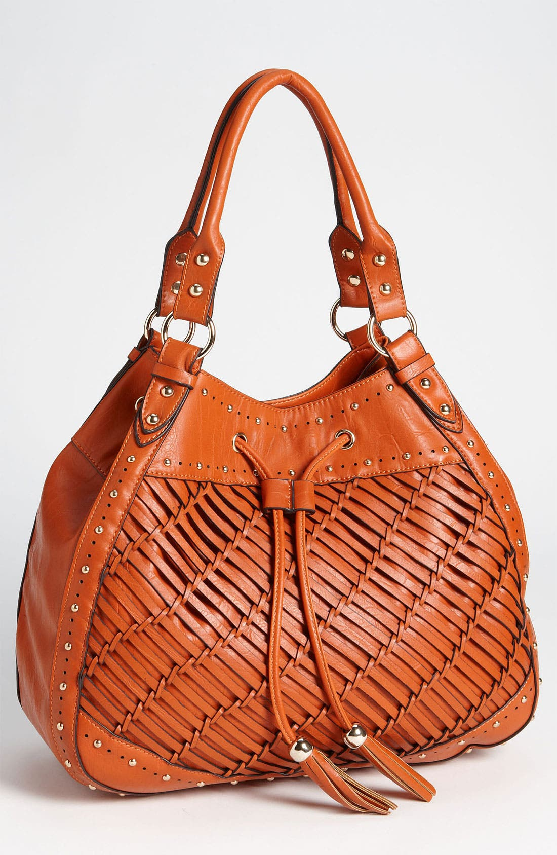 Alternate Image 1 Selected - Melie Bianco 'Angelina' Woven Tote