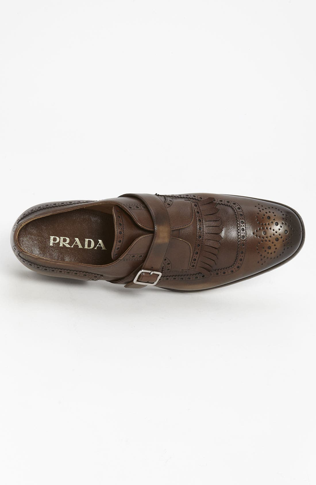 Alternate Image 3  - Prada Kiltie Wingtip Slip-On (Online Only)
