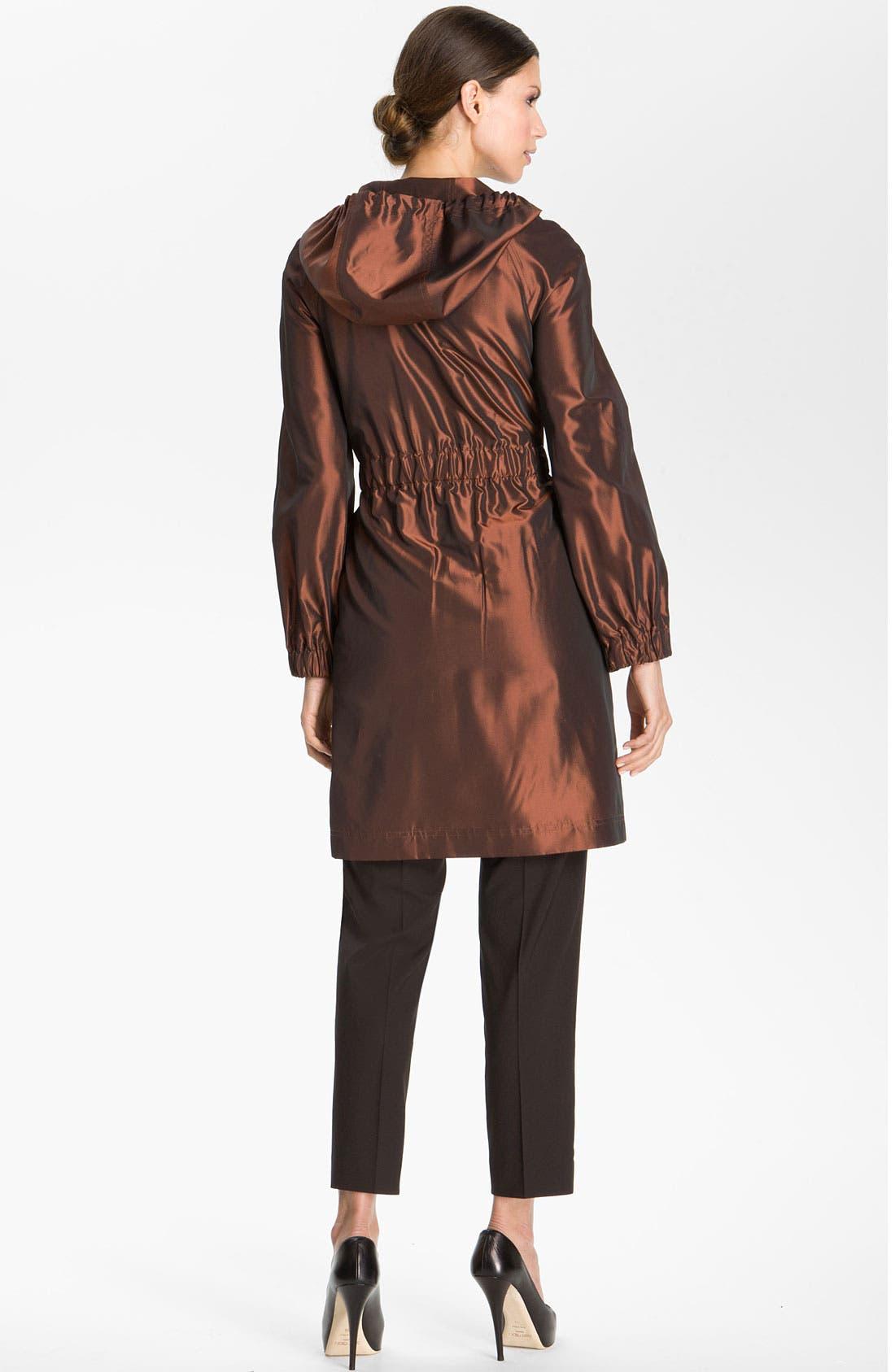 Alternate Image 2  - St. John Collection Hooded Taffeta Jacket