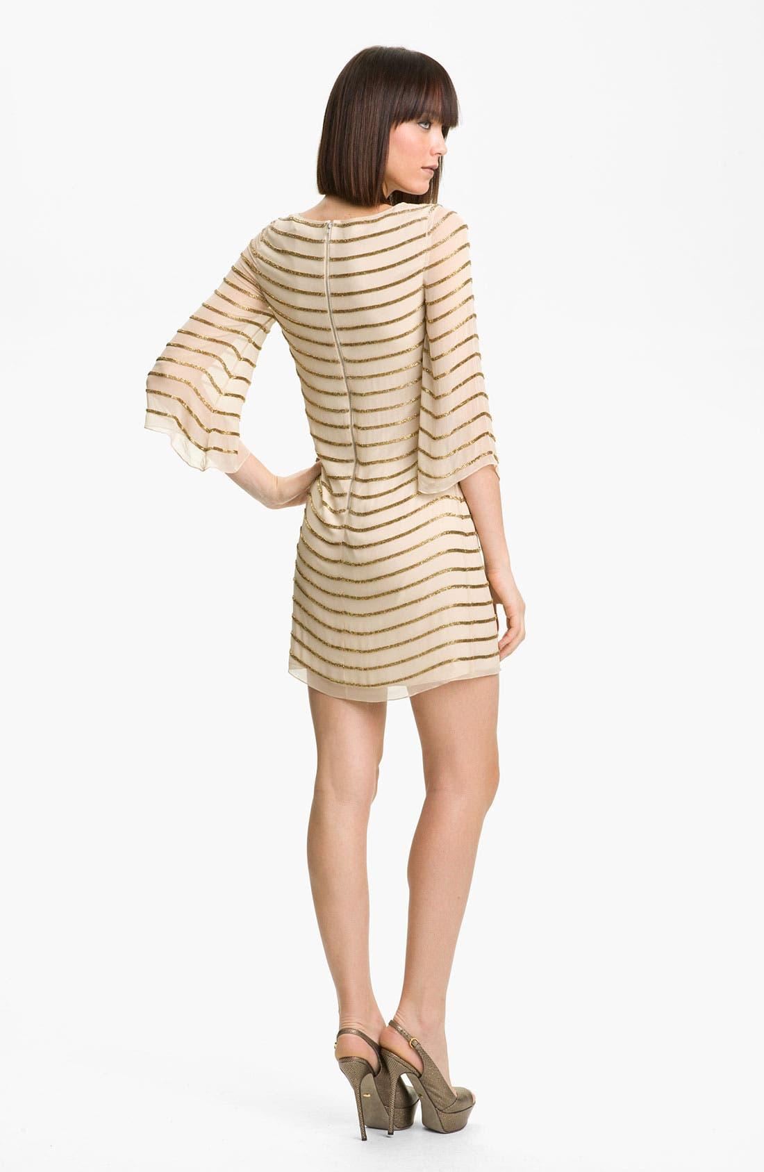 Alternate Image 2  - Alice + Olivia Silk Tunic Dress