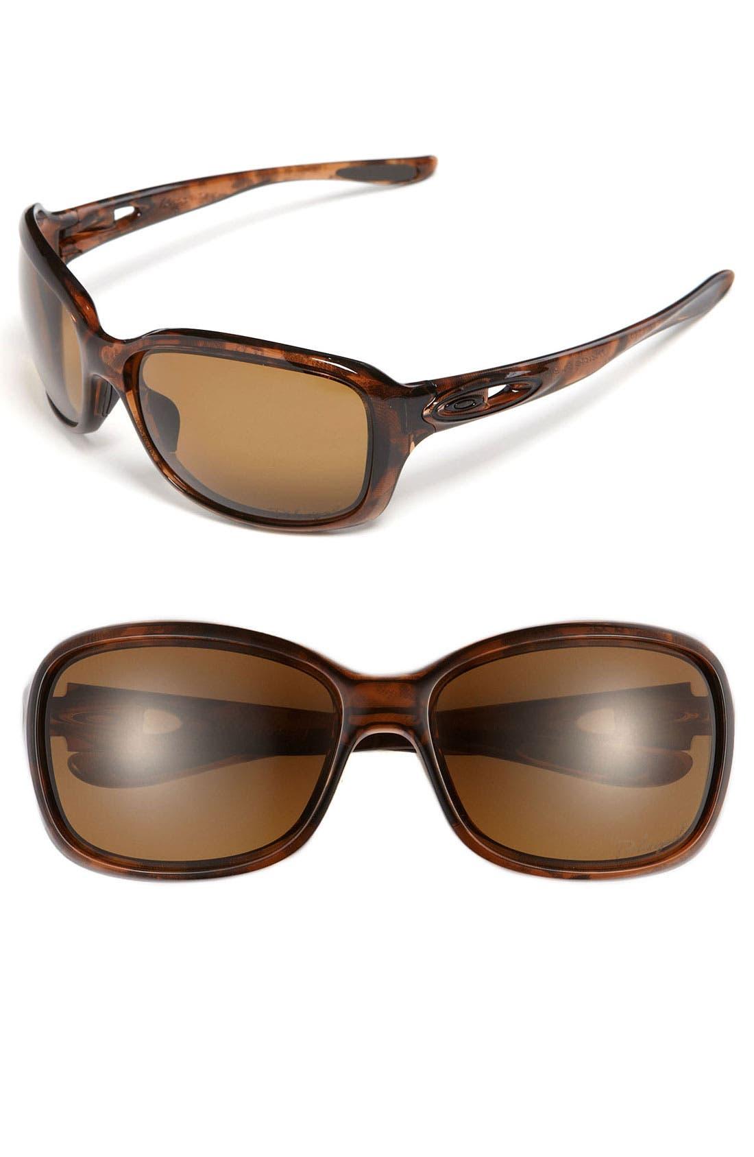 Alternate Image 1 Selected - Oakley 'Urgency™' 51mm Polarized Sunglasses