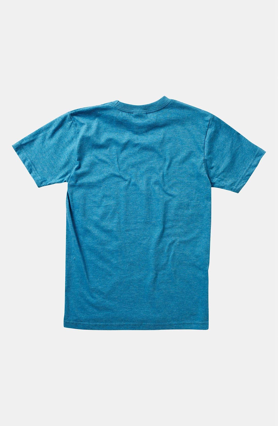 Alternate Image 2  - Quiksilver 'Get Up' T-Shirt (Big Boys)