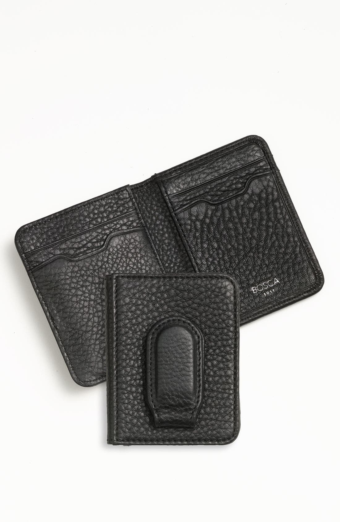 Main Image - Bosca Front Pocket Wallet