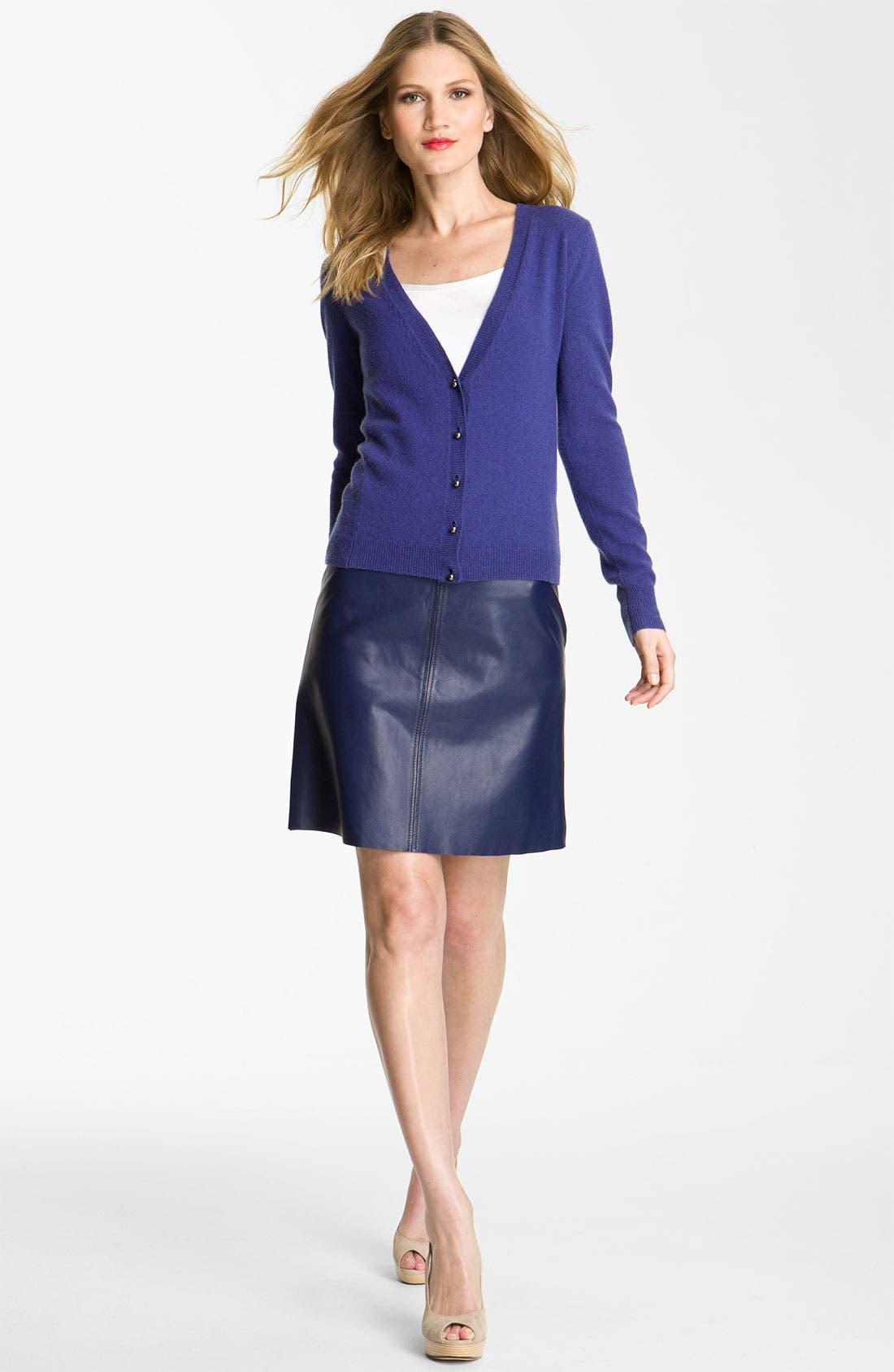 Alternate Image 4  - Weekend Max Mara 'Affine' Leather Skirt