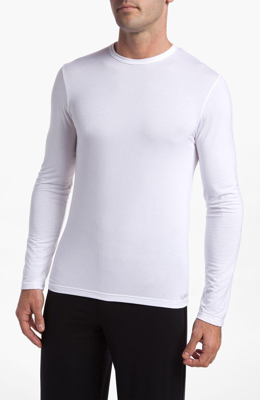 Main Image - Calvin Klein 'U1139' Micromodal Long Sleeve T-Shirt